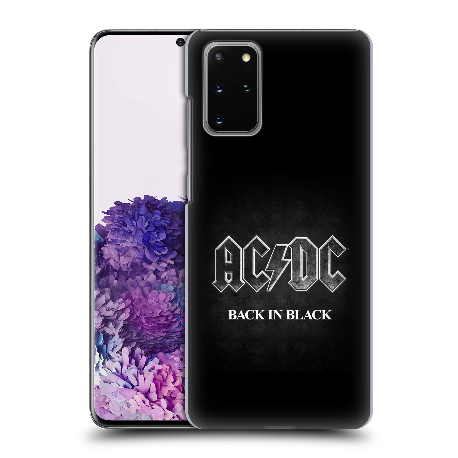 Plastové pouzdro na mobil Samsung Galaxy S20 Plus - Head Case - AC/DC BACK IN BLACK