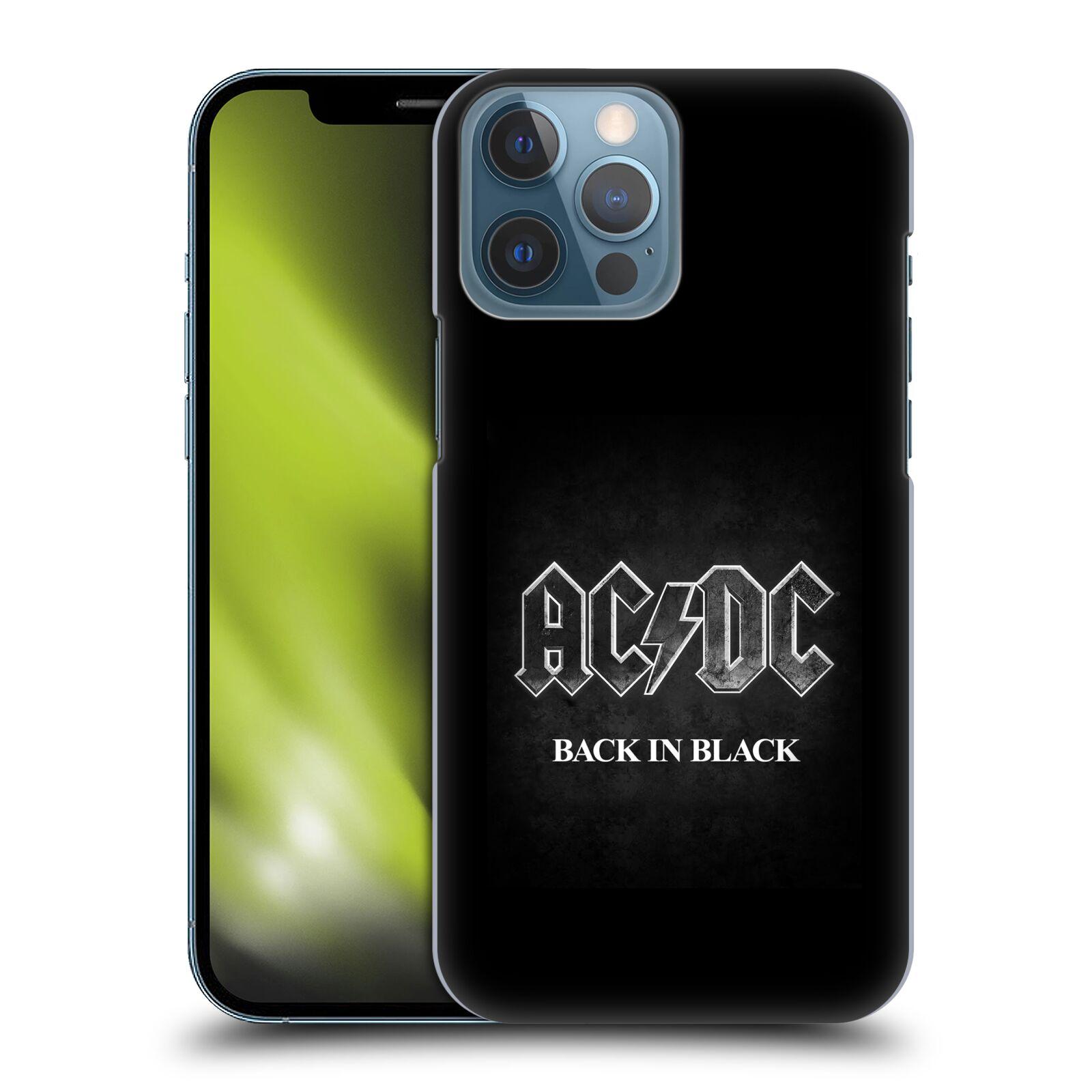 Plastové pouzdro na mobil Apple iPhone 13 Pro Max - Head Case - AC/DC BACK IN BLACK