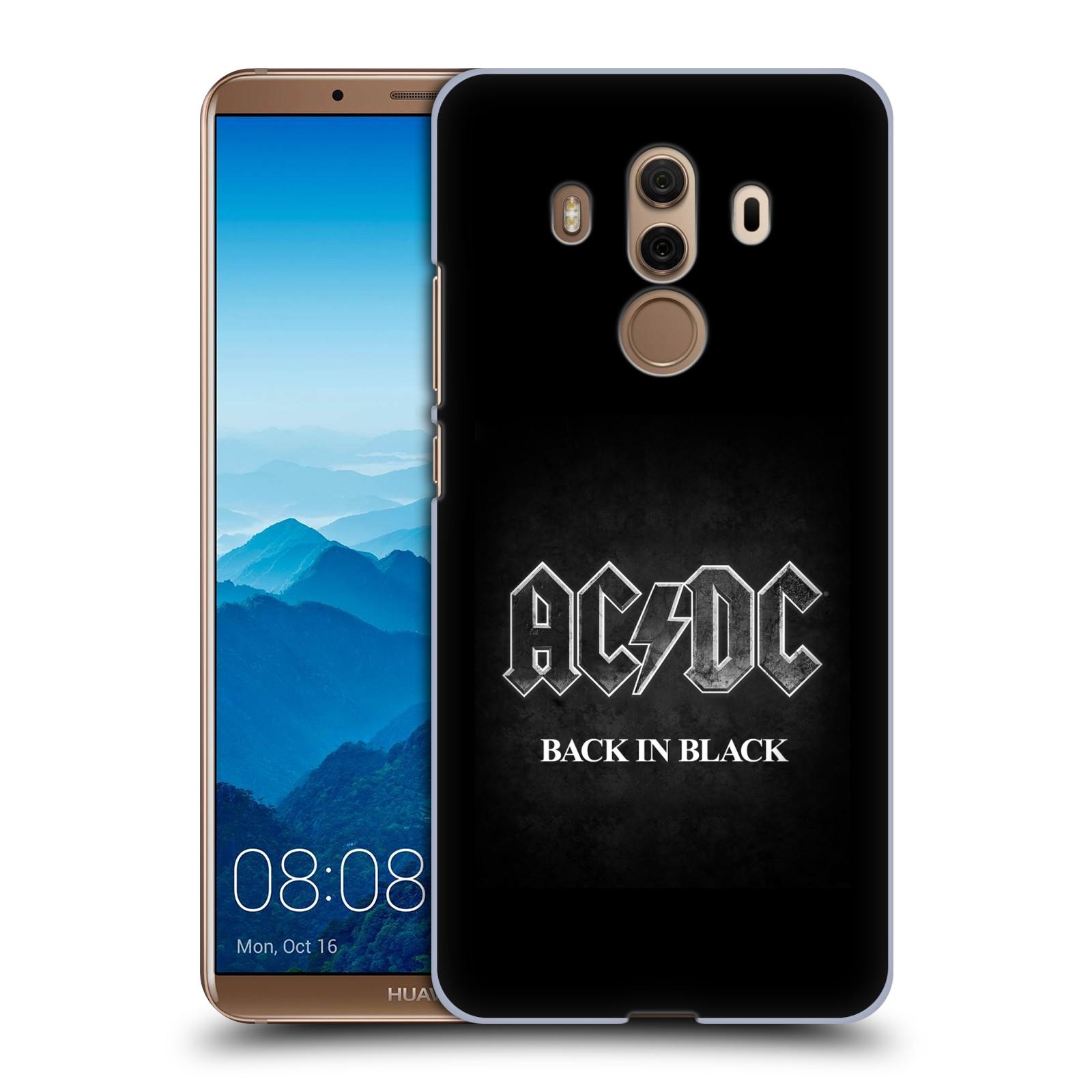 Plastové pouzdro na mobil Huawei Mate 10 Pro - Head Case - AC/DC BACK IN BLACK
