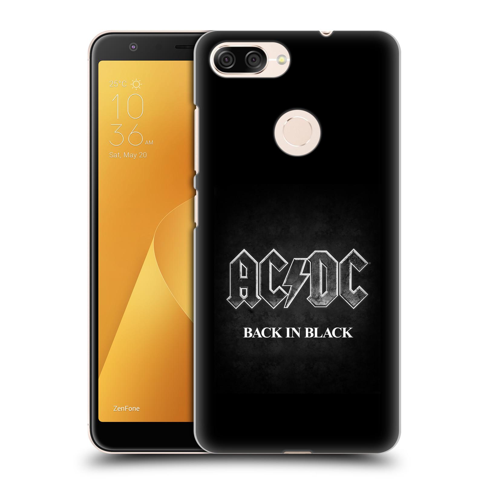 Plastové pouzdro na mobil Asus ZenFone Max Plus (M1) - Head Case - AC/DC BACK IN BLACK