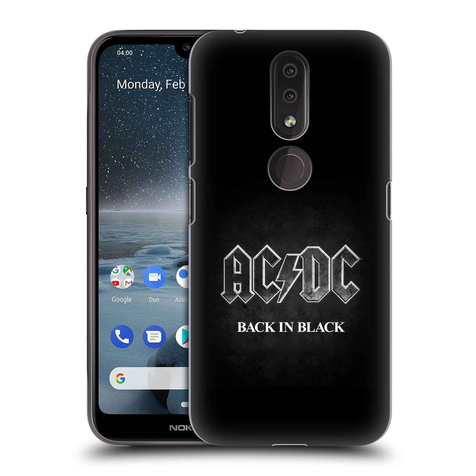 Plastové pouzdro na mobil Nokia 4.2 - Head Case - AC/DC BACK IN BLACK