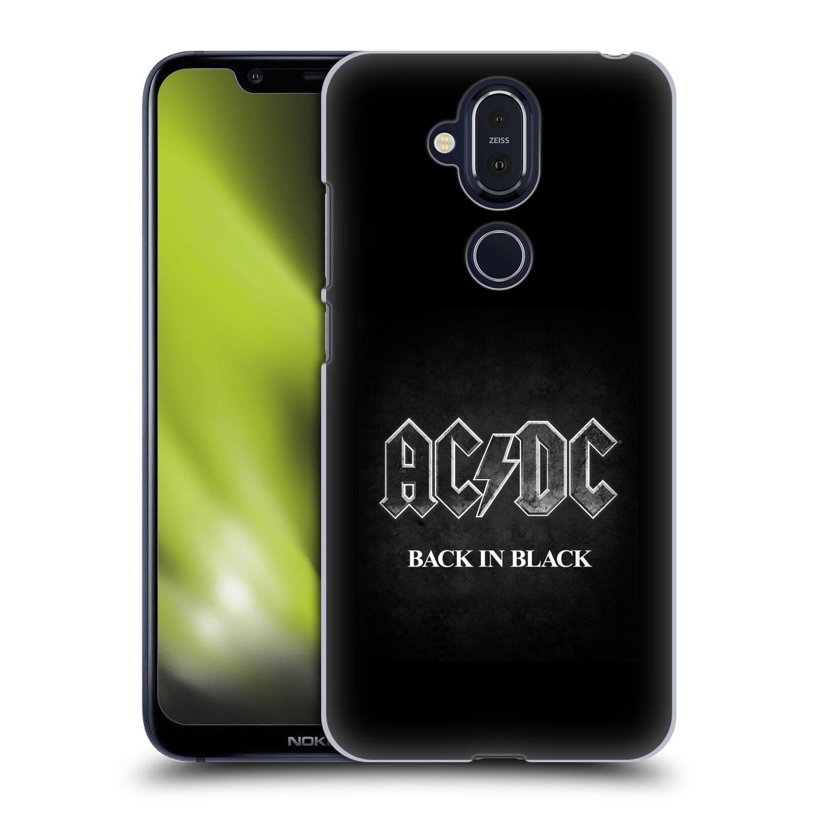 Plastové pouzdro na mobil Nokia 8.1 - Head Case - AC/DC BACK IN BLACK