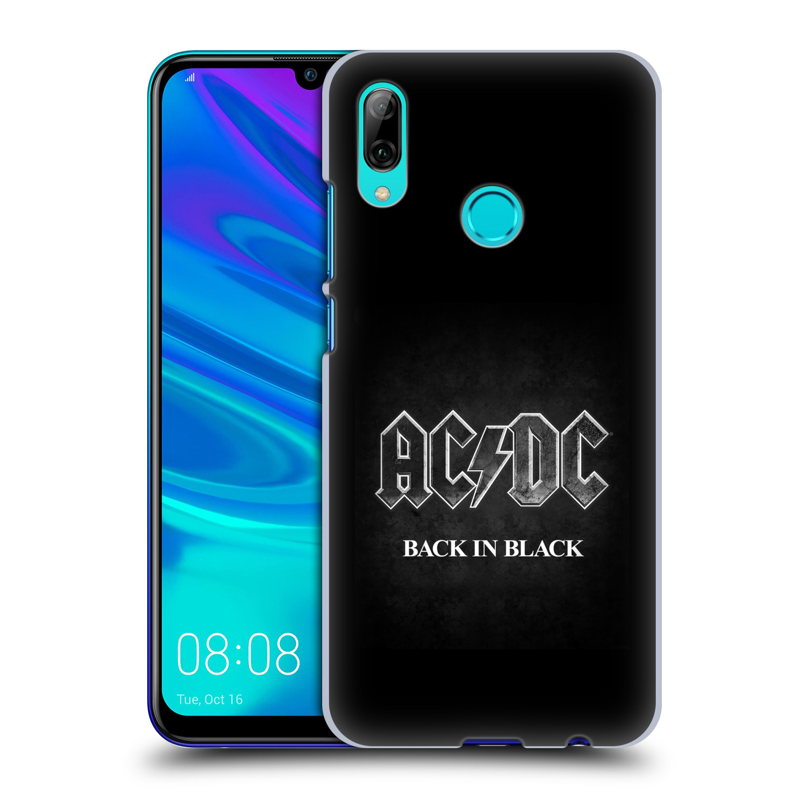 Plastové pouzdro na mobil Huawei P Smart (2019) - Head Case - AC/DC BACK IN BLACK