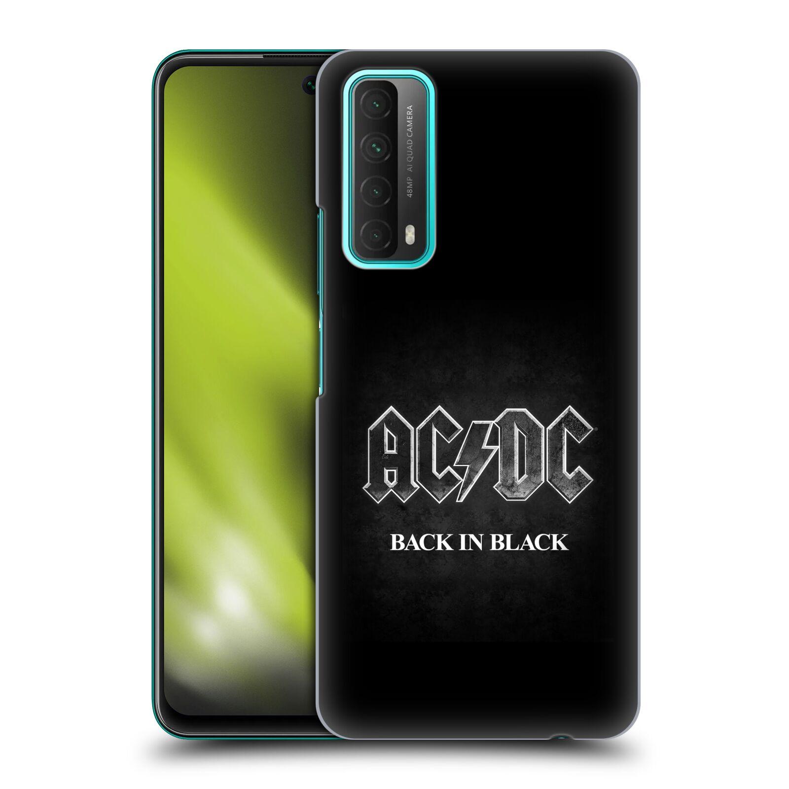Plastové pouzdro na mobil Huawei P Smart (2021) - Head Case - AC/DC BACK IN BLACK