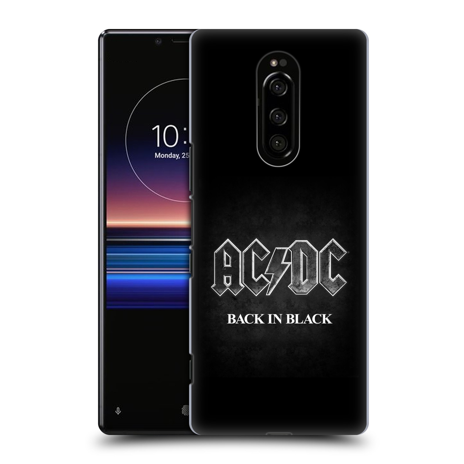 Plastové pouzdro na mobil Sony Xperia 1 - Head Case - AC/DC BACK IN BLACK