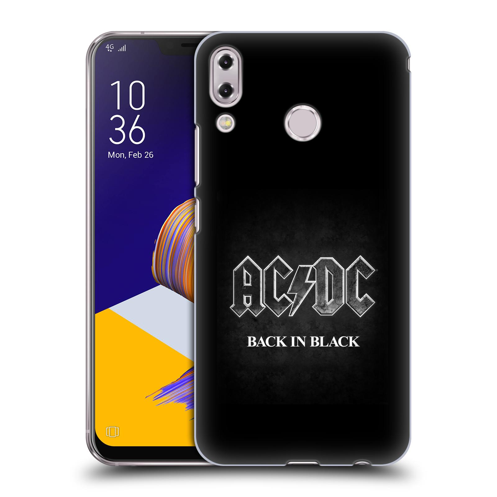 Plastové pouzdro na mobil Asus Zenfone 5z ZS620KL - Head Case - AC/DC BACK IN BLACK