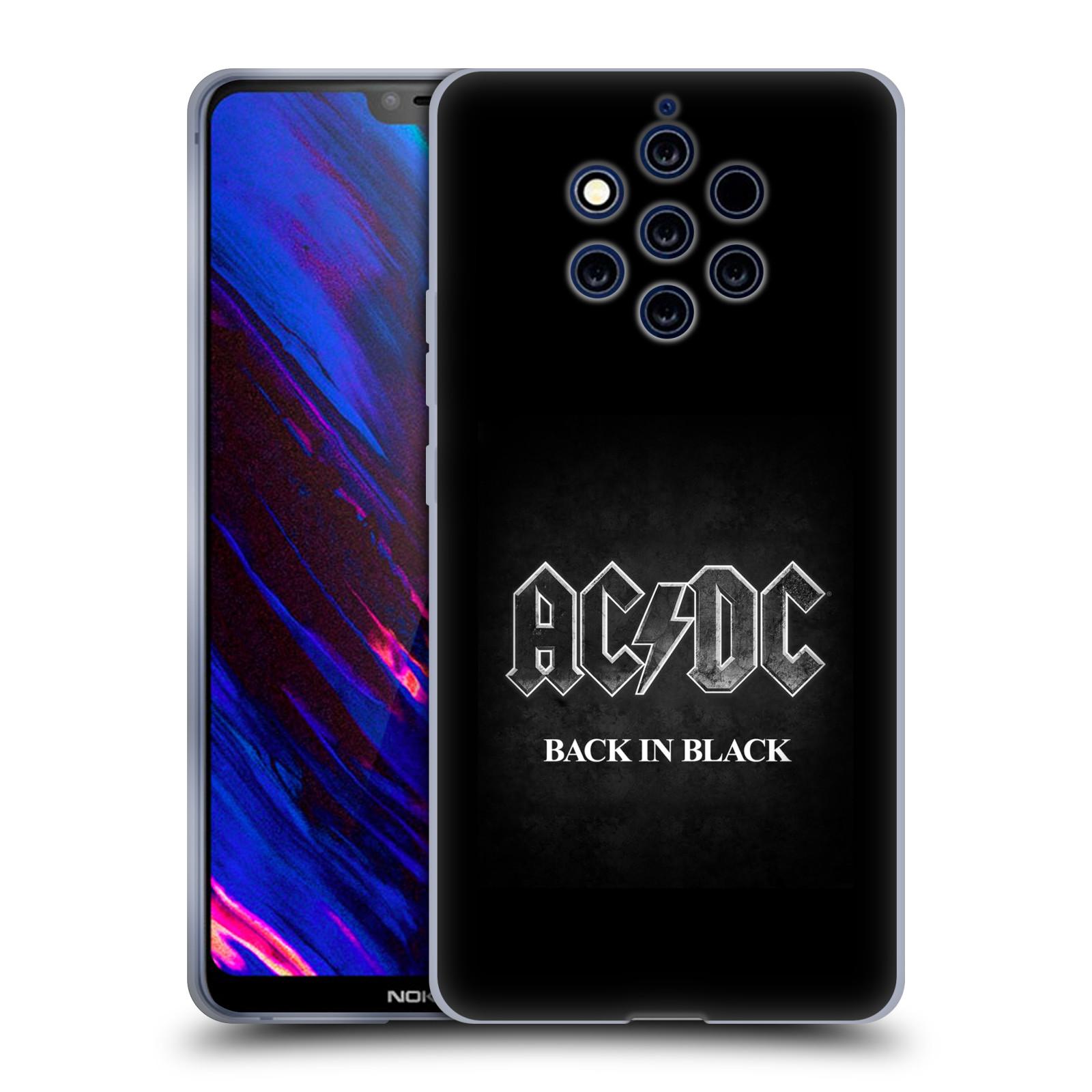 Silikonové pouzdro na mobil Nokia 9 PureView - Head Case - AC/DC BACK IN BLACK