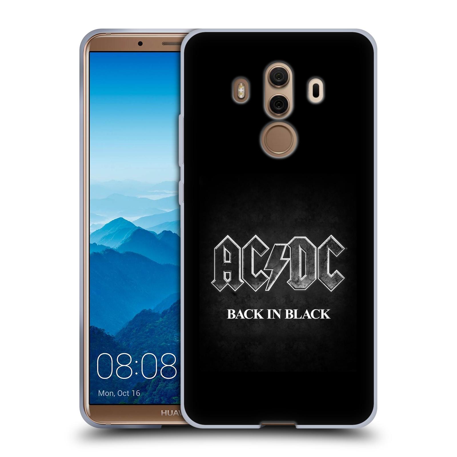 Silikonové pouzdro na mobil Huawei Mate 10 Pro - Head Case - AC/DC BACK IN BLACK