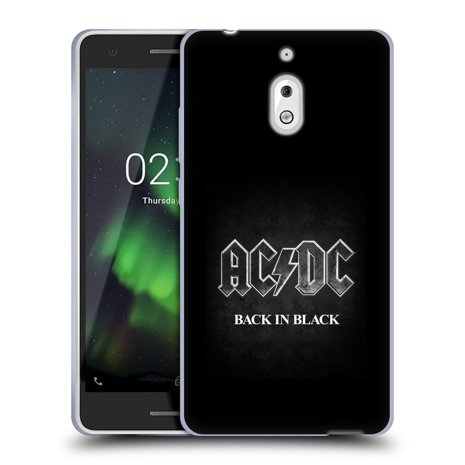 Silikonové pouzdro na mobil Nokia 2.1 - Head Case - AC/DC BACK IN BLACK