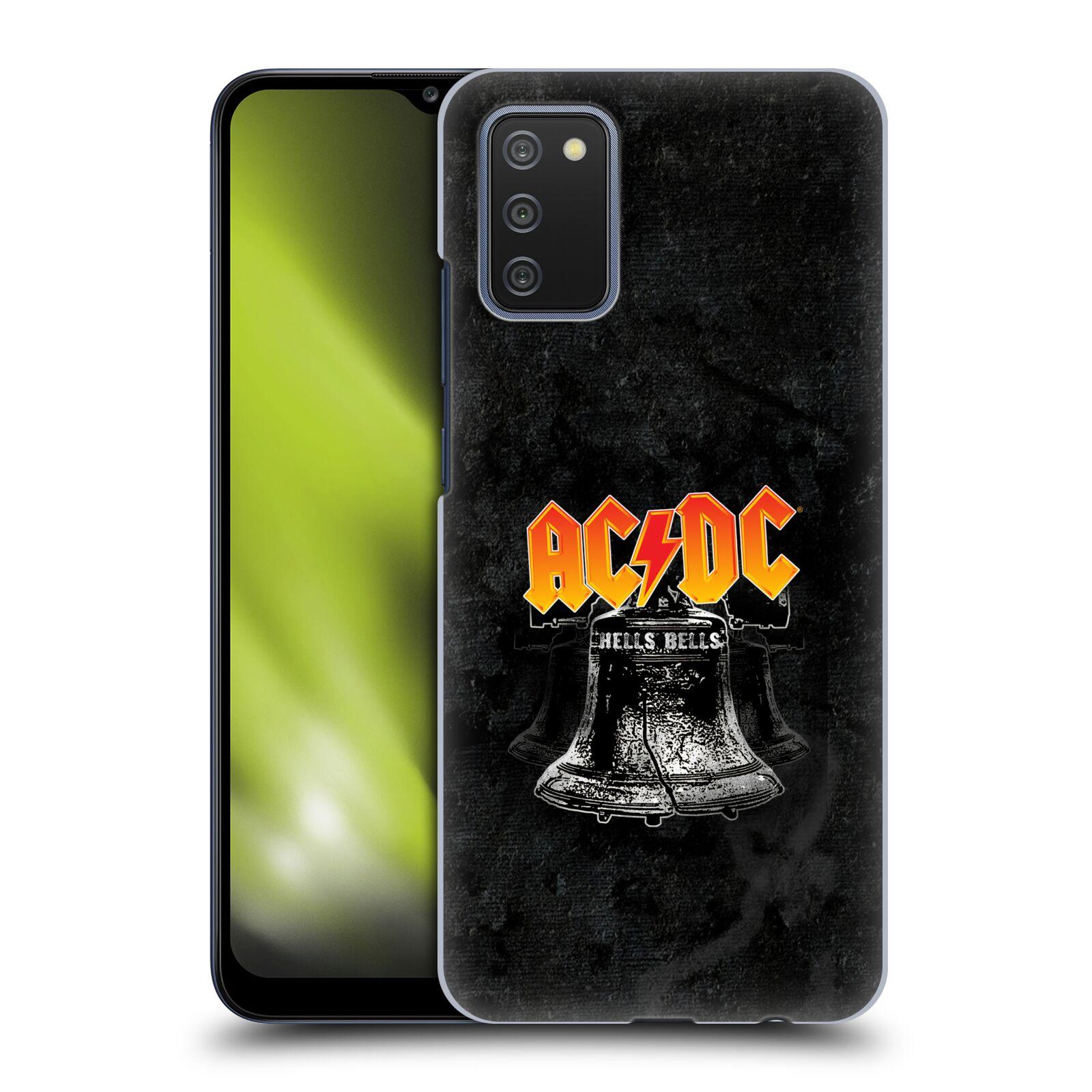 Plastové pouzdro na mobil Samsung Galaxy A02s - Head Case - AC/DC Hells Bells