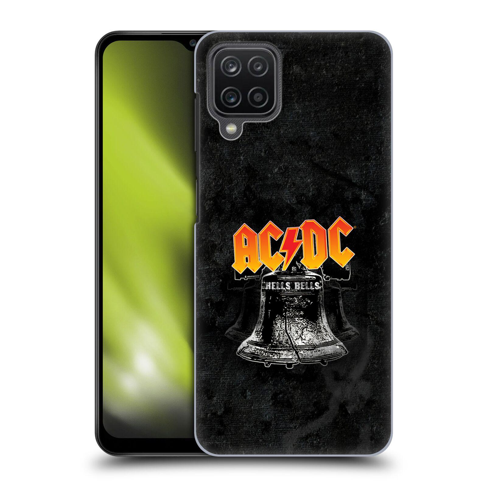 Plastové pouzdro na mobil Samsung Galaxy A12 - Head Case - AC/DC Hells Bells