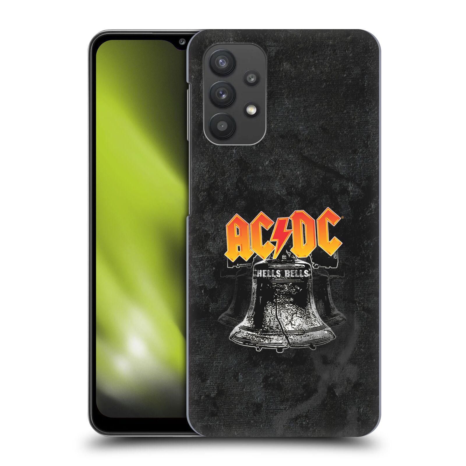 Plastové pouzdro na mobil Samsung Galaxy A32 5G - Head Case - AC/DC Hells Bells