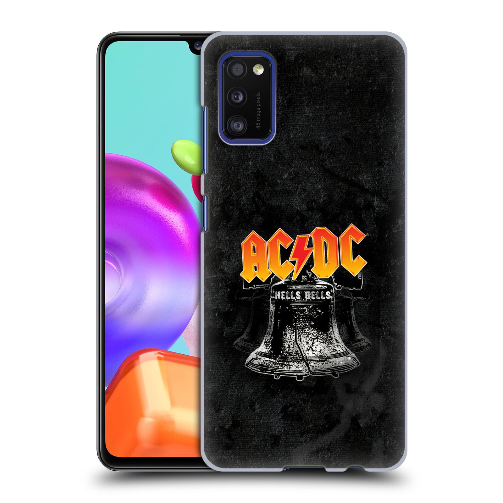 Plastové pouzdro na mobil Samsung Galaxy A41 - Head Case - AC/DC Hells Bells