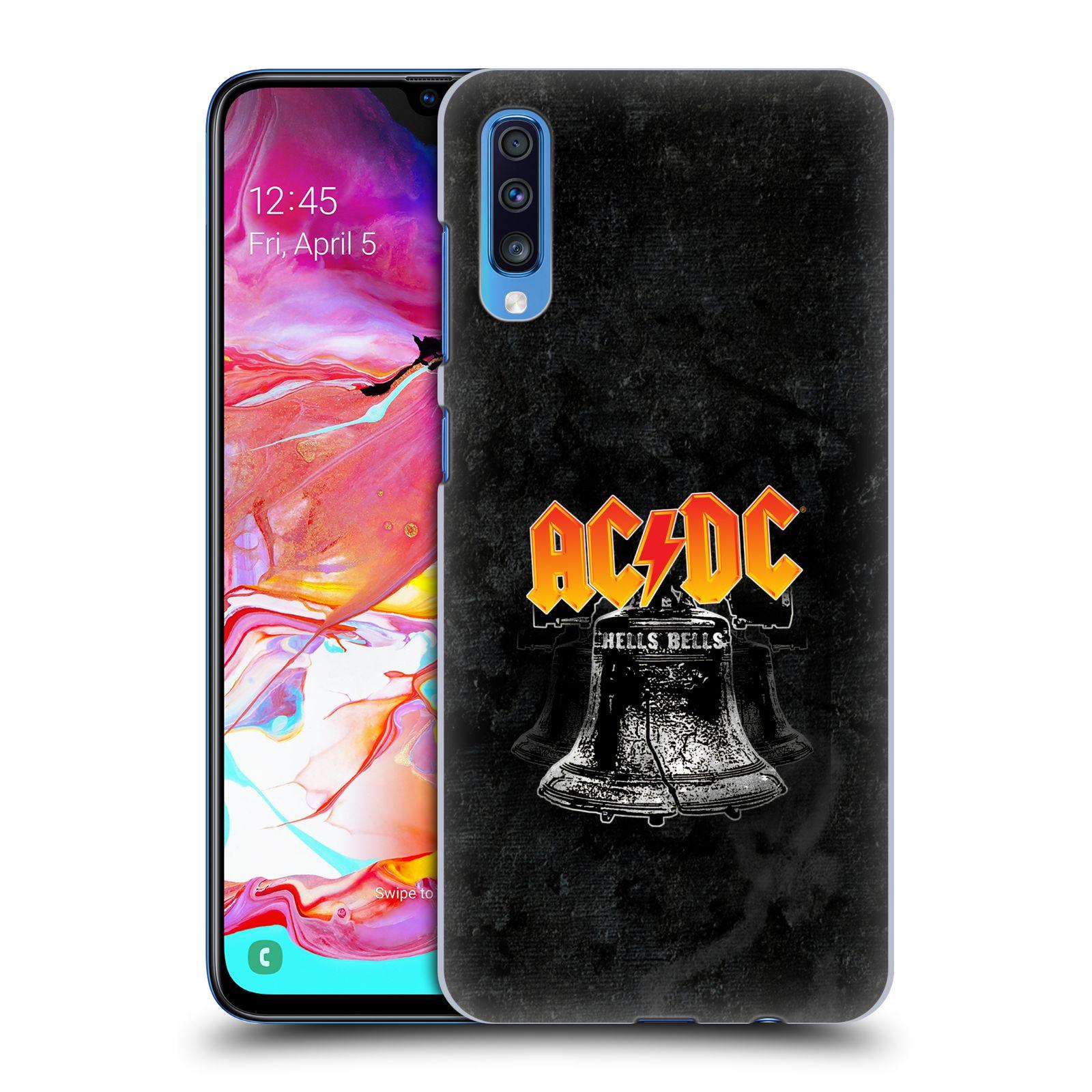 Plastové pouzdro na mobil Samsung Galaxy A70 - Head Case - AC/DC Hells Bells