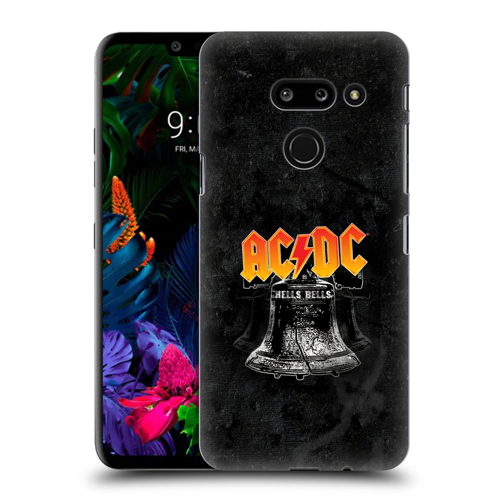 Plastové pouzdro na mobil LG G8 ThinQ - Head Case - AC/DC Hells Bells