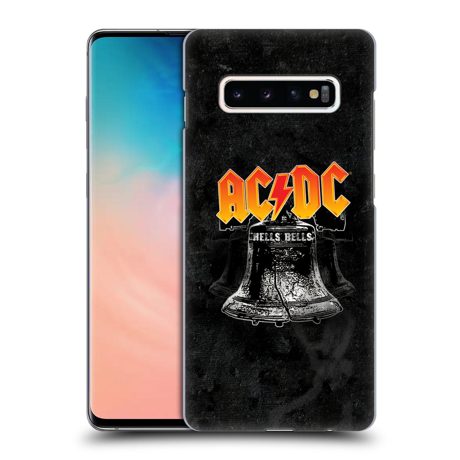 Plastové pouzdro na mobil Samsung Galaxy S10 Plus - Head Case - AC/DC Hells Bells