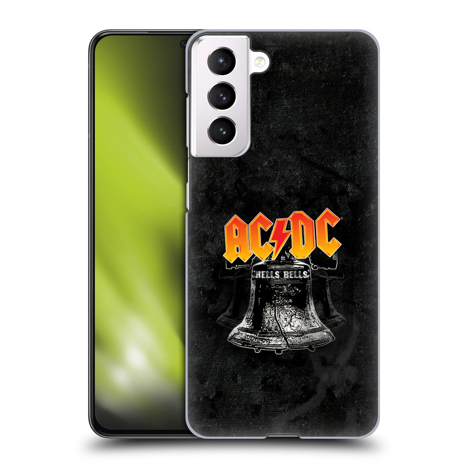 Plastové pouzdro na mobil Samsung Galaxy S21 5G - Head Case - AC/DC Hells Bells