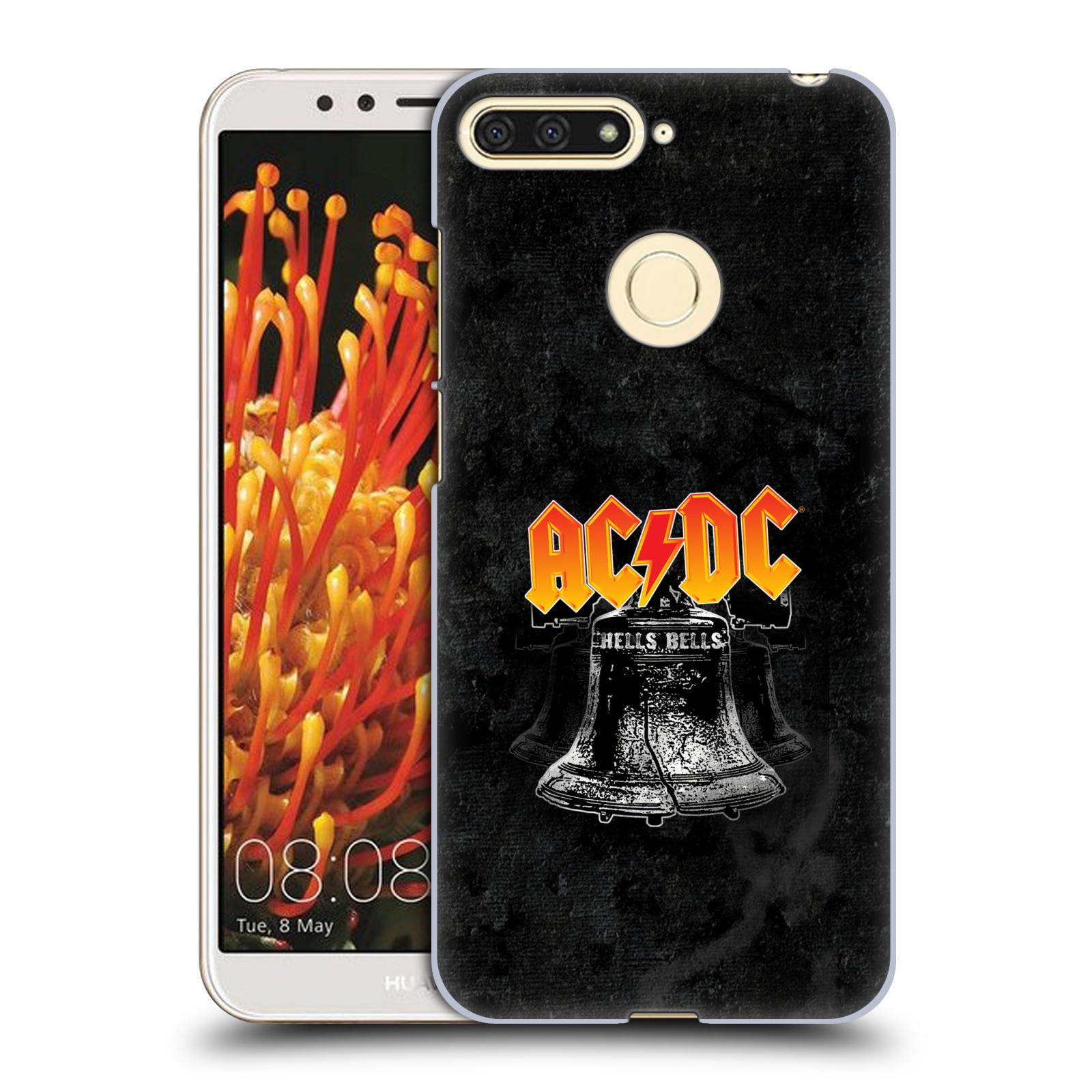 Plastové pouzdro na mobil Huawei Y6 Prime 2018 - Head Case - AC/DC Hells Bells