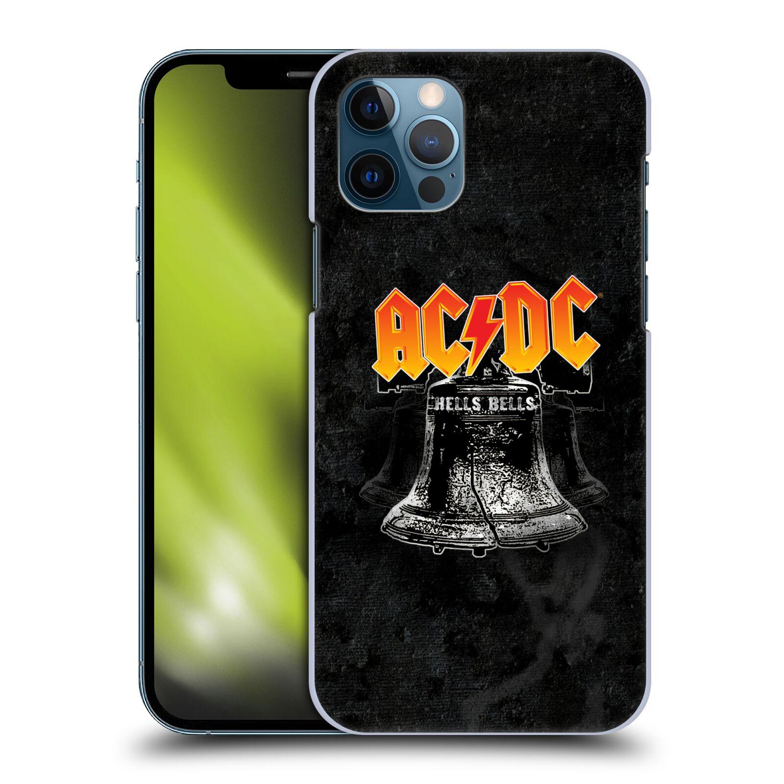 Plastové pouzdro na mobil Apple iPhone 12 / 12 Pro - Head Case - AC/DC Hells Bells