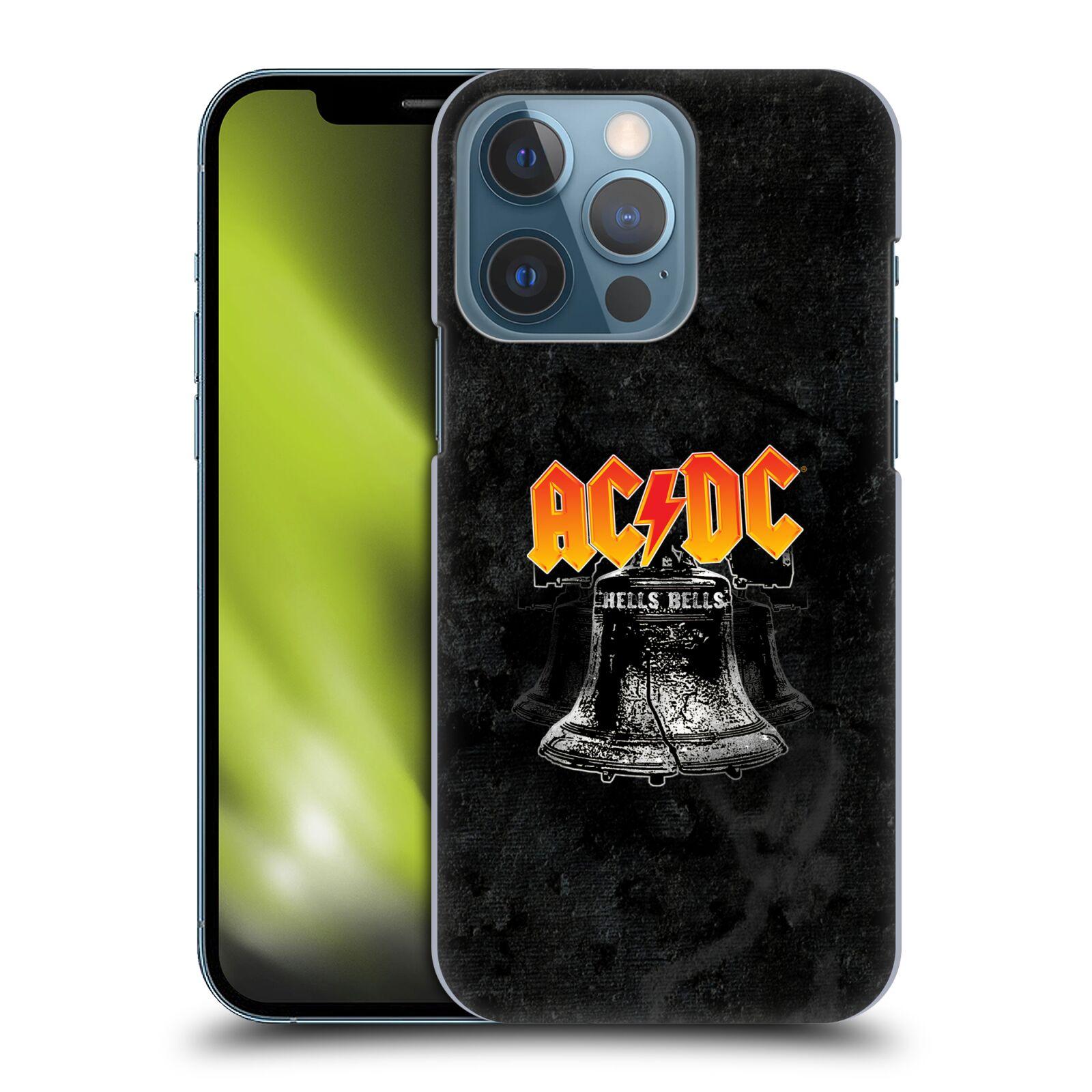 Plastové pouzdro na mobil Apple iPhone 13 Pro - Head Case - AC/DC Hells Bells