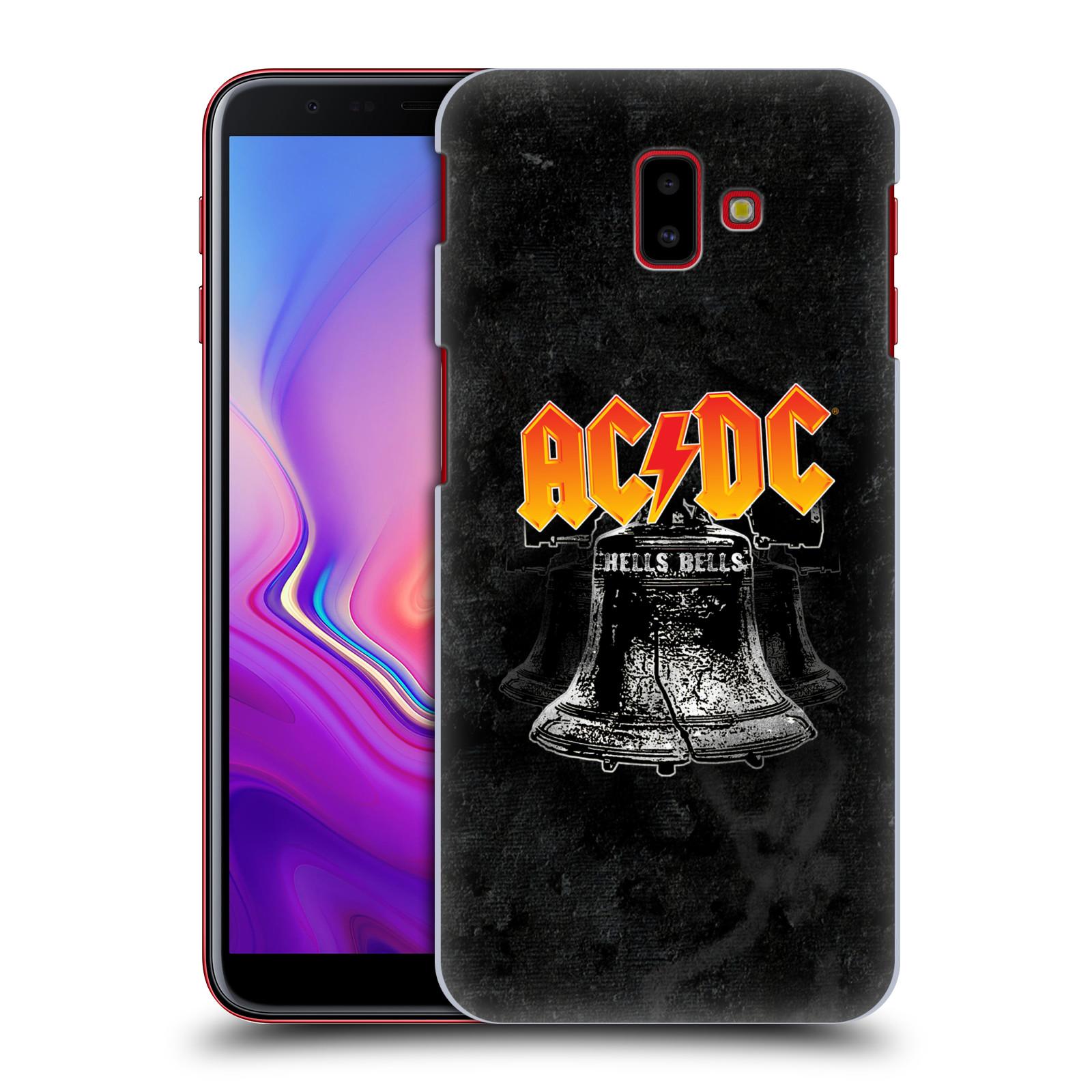Plastové pouzdro na mobil Samsung Galaxy J6 Plus - Head Case - AC/DC Hells Bells