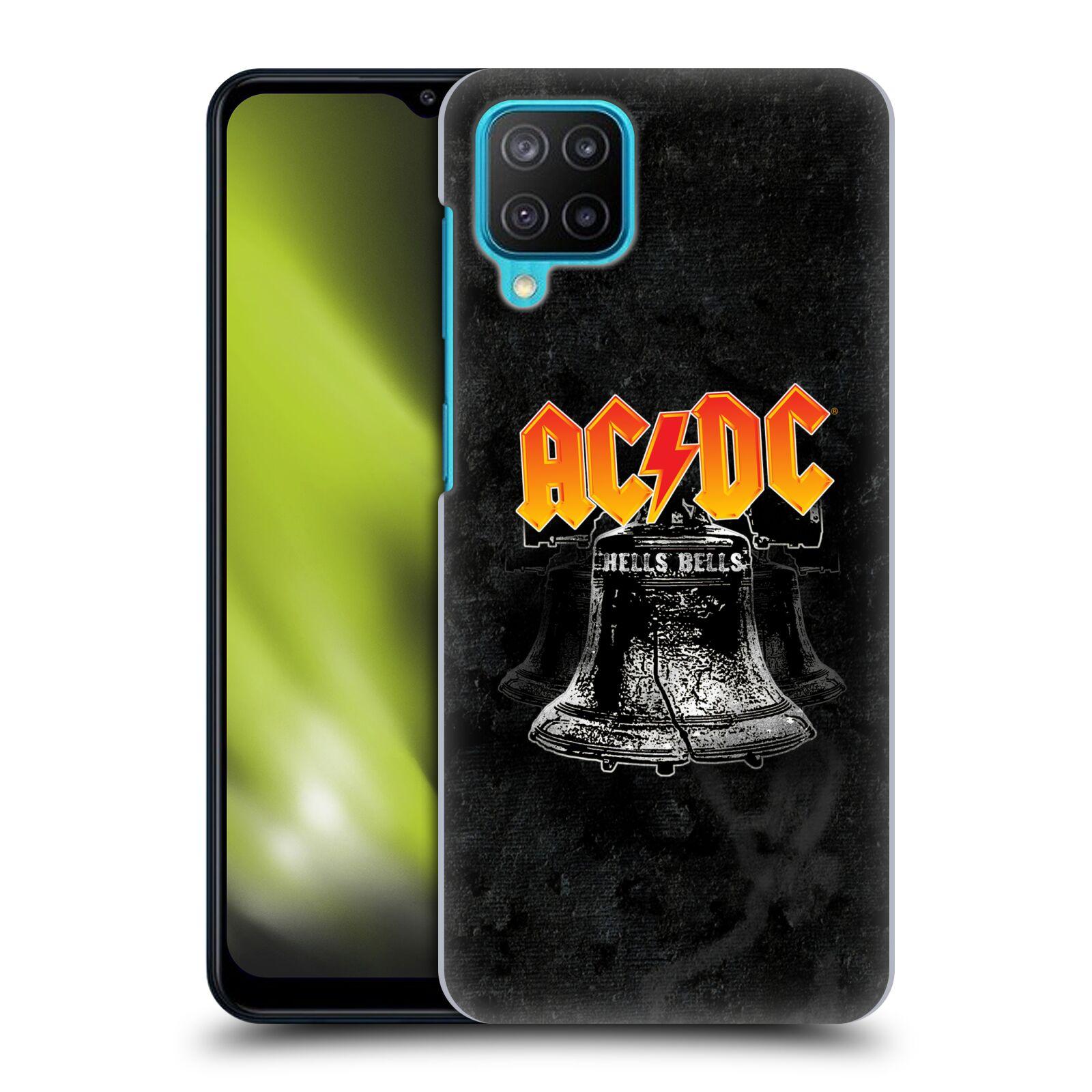 Plastové pouzdro na mobil Samsung Galaxy M12 - Head Case - AC/DC Hells Bells