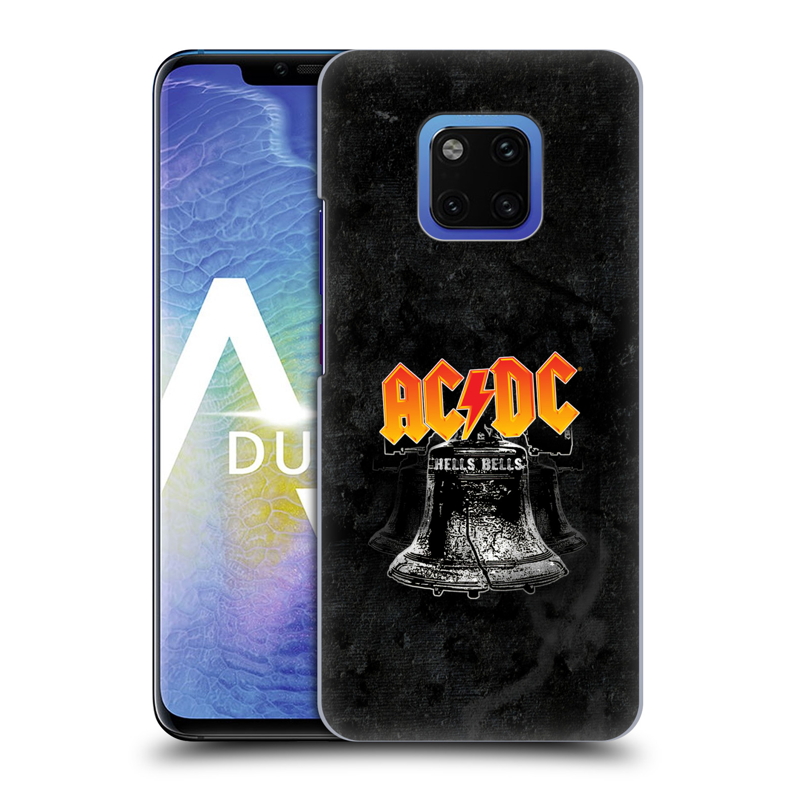 Plastové pouzdro na mobil Huawei Mate 20 Pro - Head Case - AC/DC Hells Bells