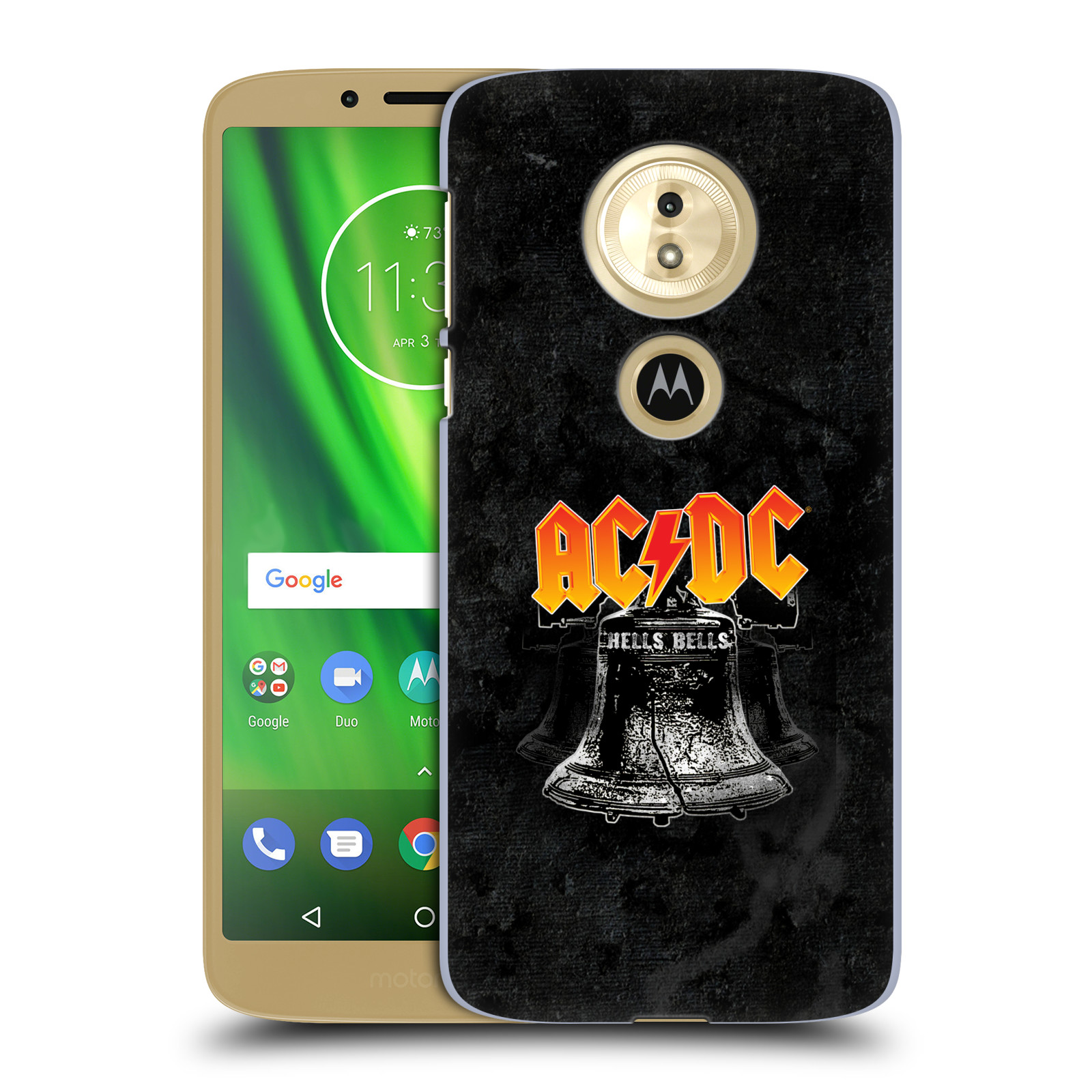 Plastové pouzdro na mobil Motorola Moto G6 Play - Head Case - AC/DC Hells Bells