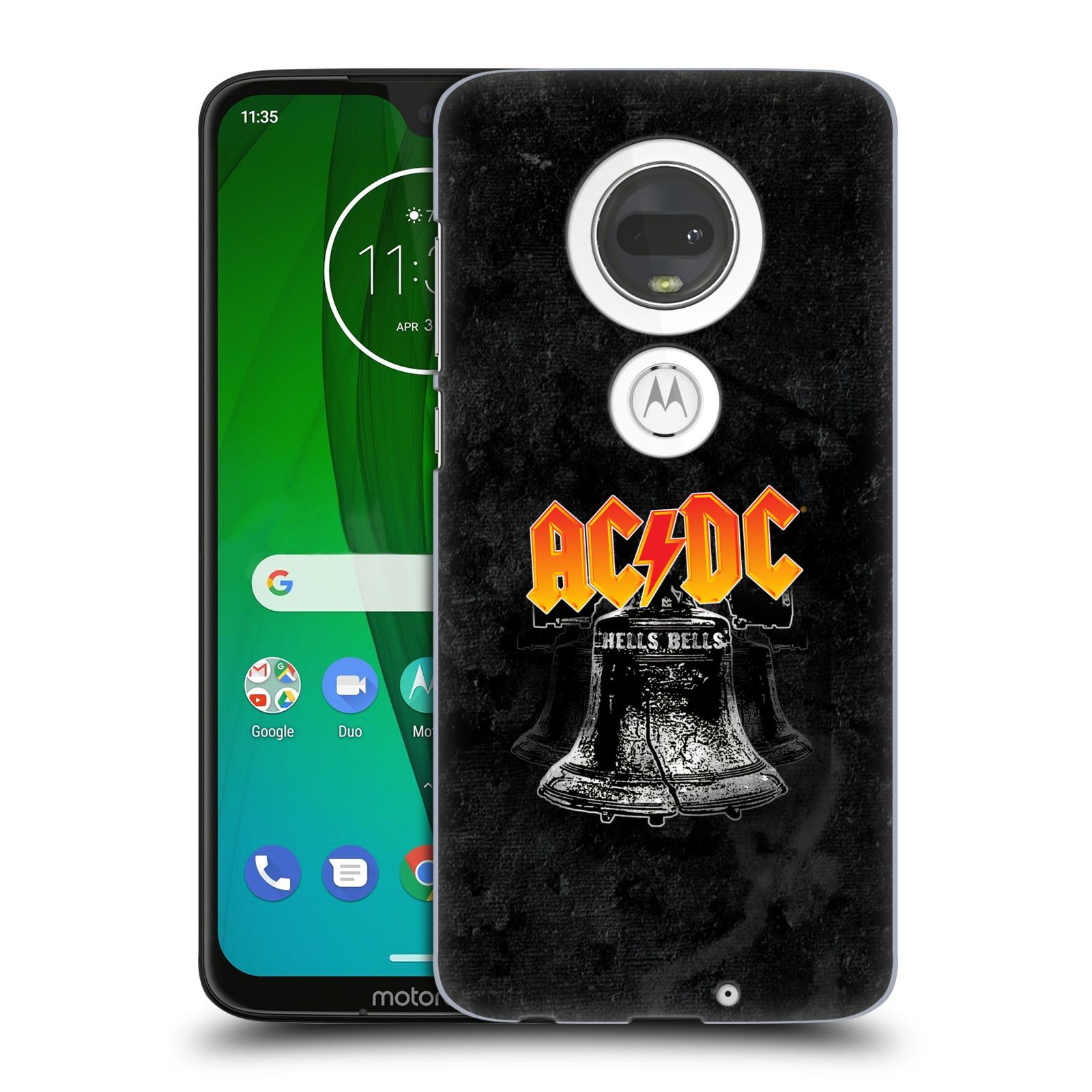 Plastové pouzdro na mobil Motorola Moto G7 - Head Case - AC/DC Hells Bells