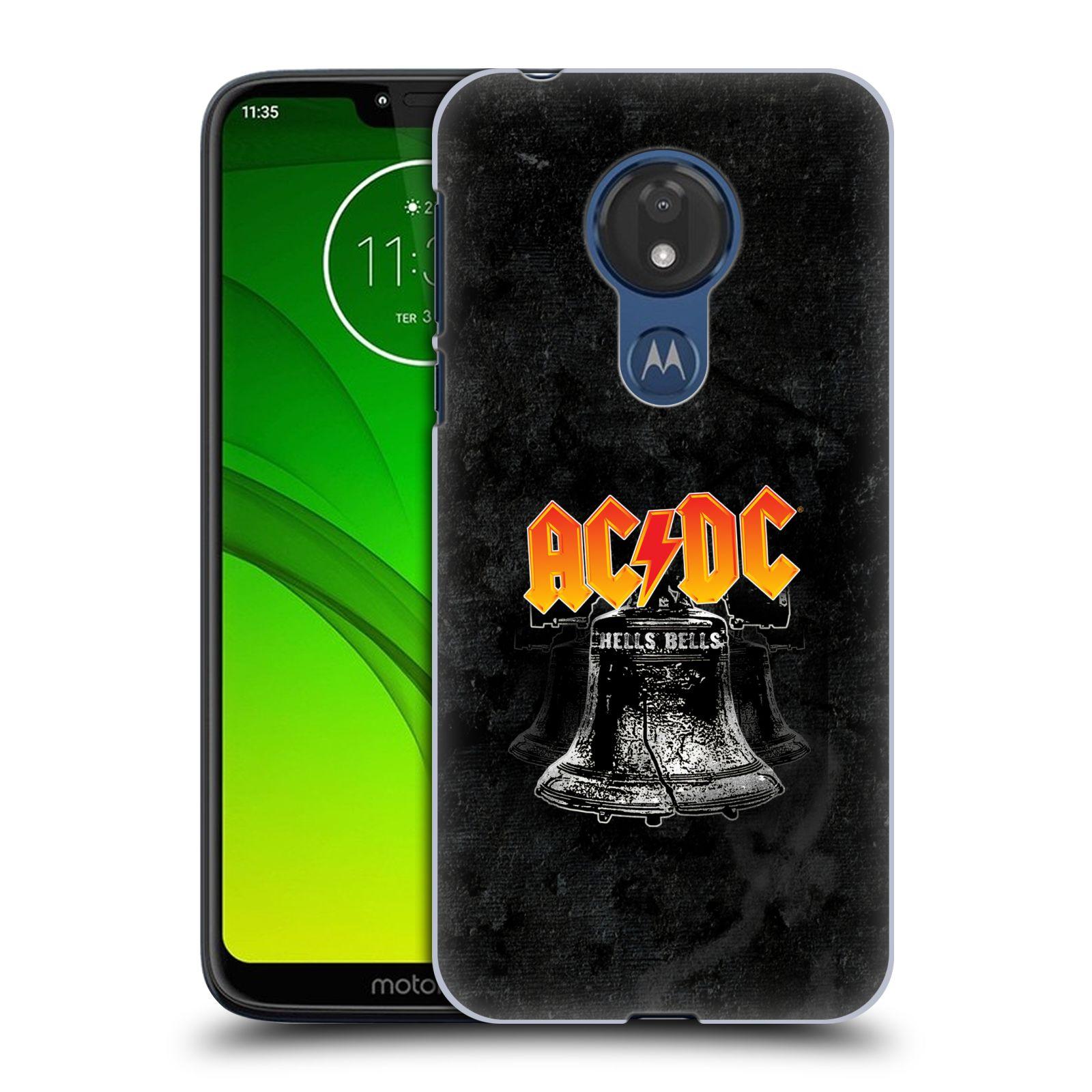 Plastové pouzdro na mobil Motorola Moto G7 Power - Head Case - AC/DC Hells Bells