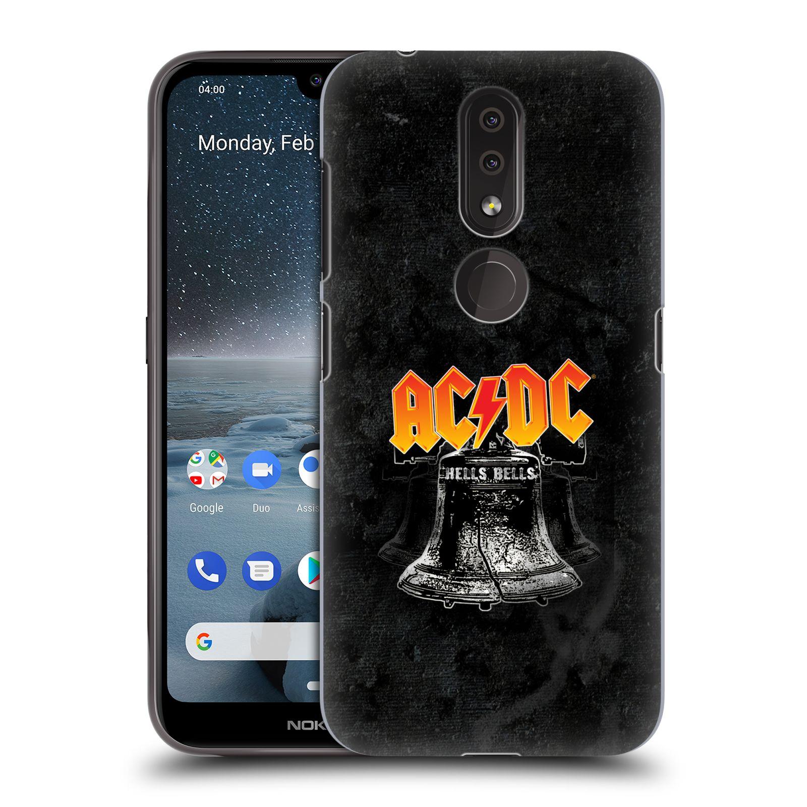 Plastové pouzdro na mobil Nokia 4.2 - Head Case - AC/DC Hells Bells