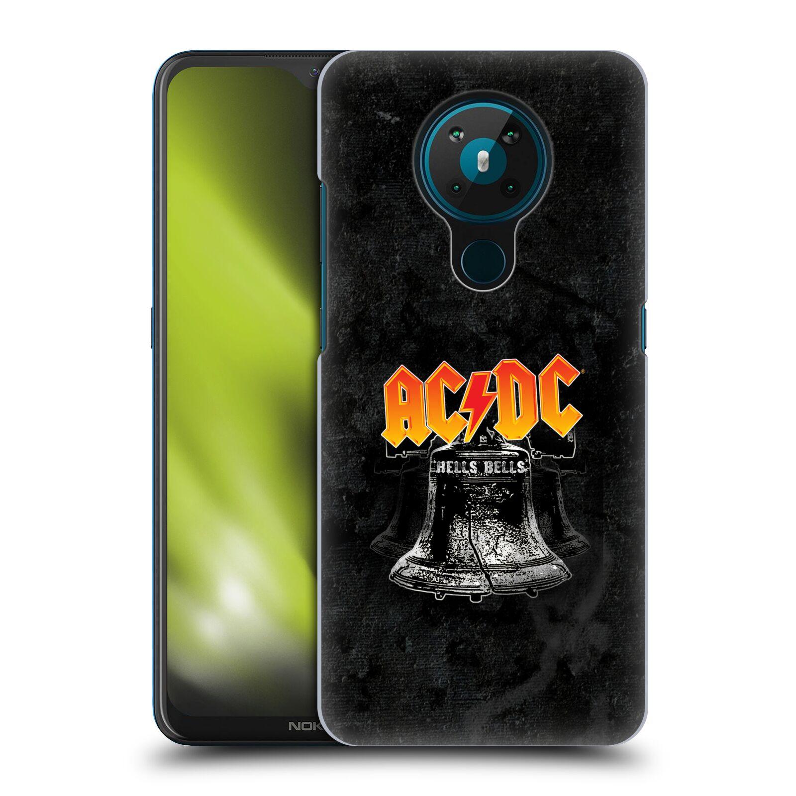 Plastové pouzdro na mobil Nokia 5.3 - Head Case - AC/DC Hells Bells