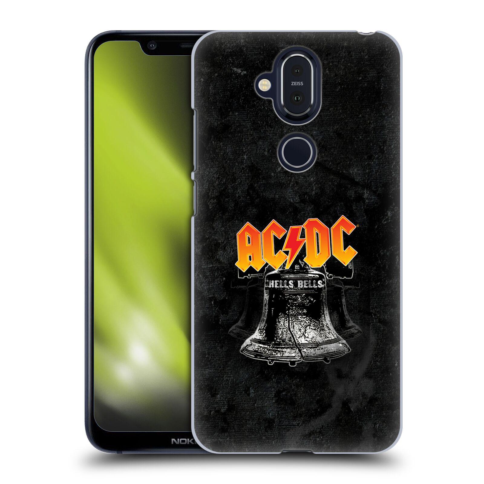 Plastové pouzdro na mobil Nokia 8.1 - Head Case - AC/DC Hells Bells