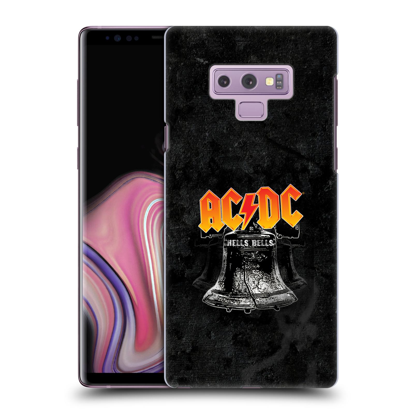 Plastové pouzdro na mobil Samsung Galaxy Note 9 - Head Case - AC/DC Hells Bells