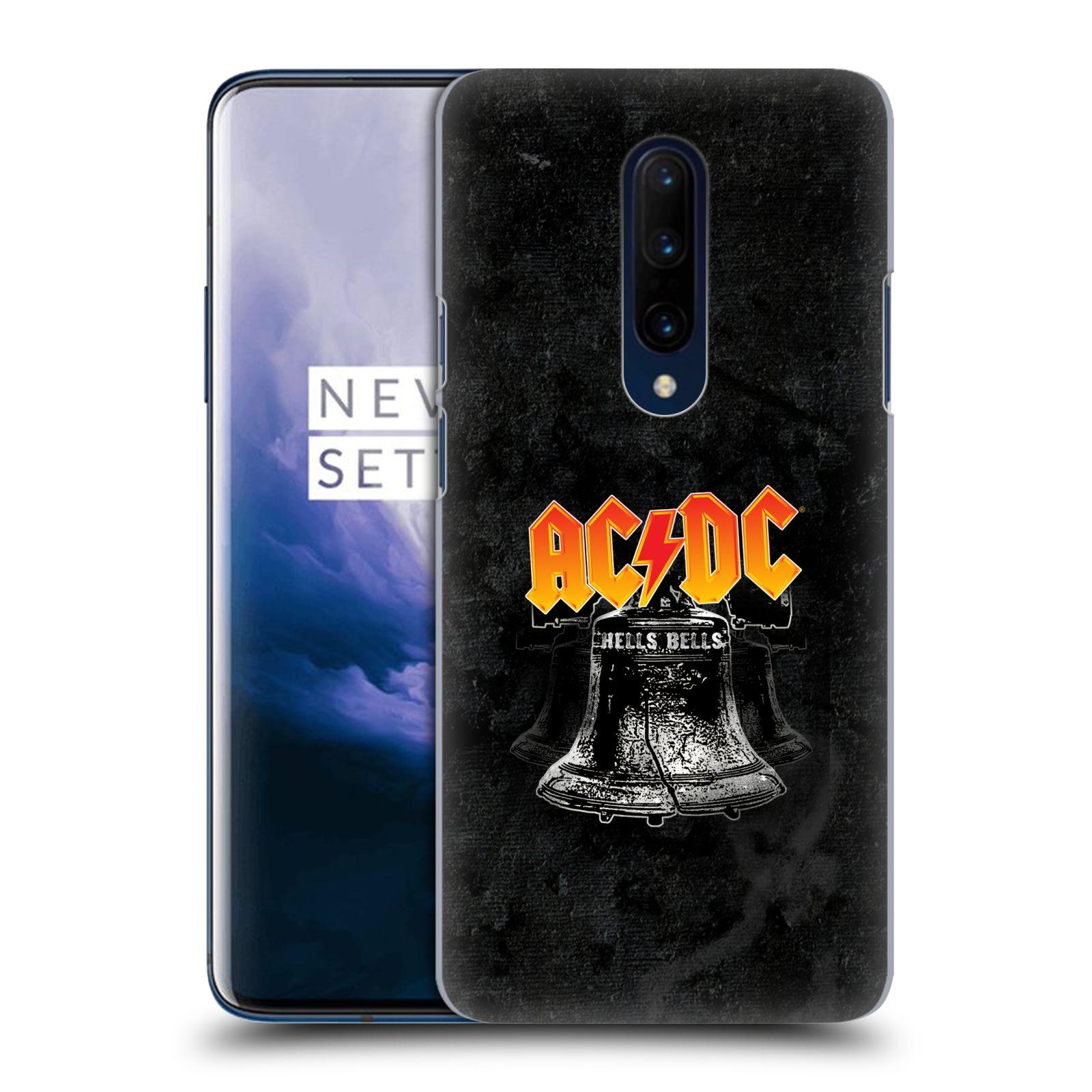 Plastové pouzdro na mobil OnePlus 7 Pro - Head Case - AC/DC Hells Bells