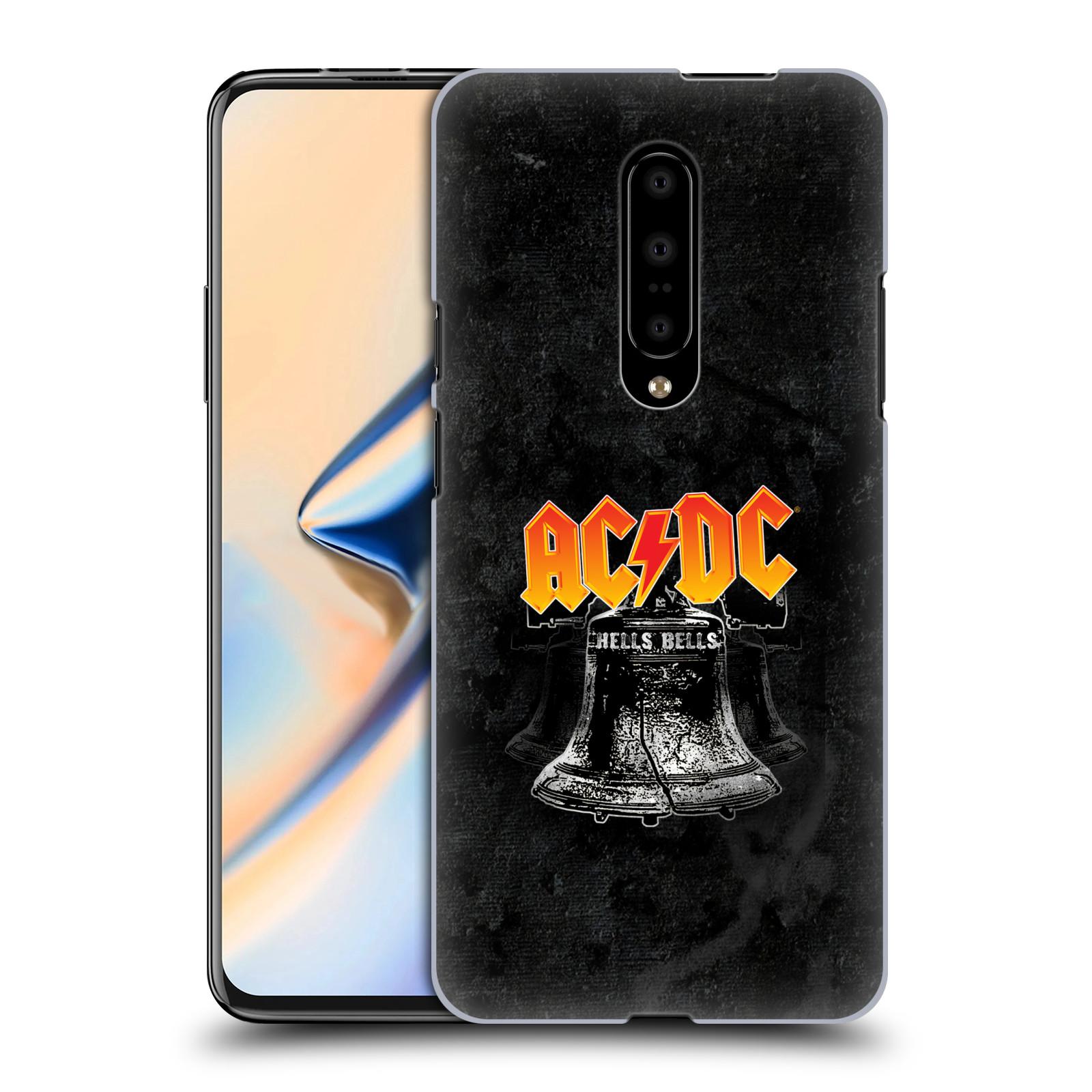 Plastové pouzdro na mobil OnePlus 7 - Head Case - AC/DC Hells Bells