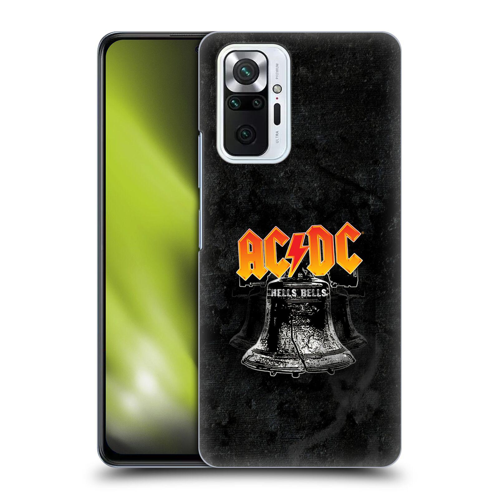 Plastové pouzdro na mobil Xiaomi Redmi Note 10 Pro - Head Case - AC/DC Hells Bells