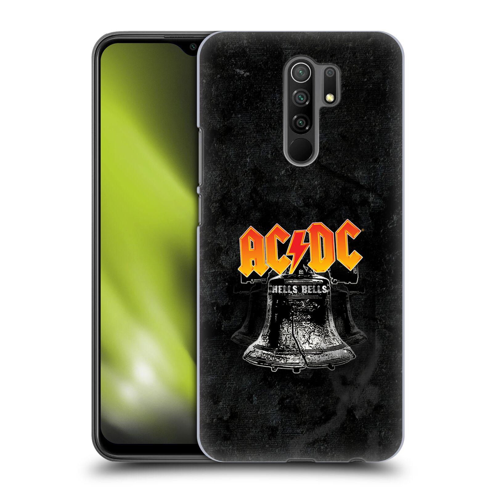 Plastové pouzdro na mobil Xiaomi Redmi 9 - Head Case - AC/DC Hells Bells