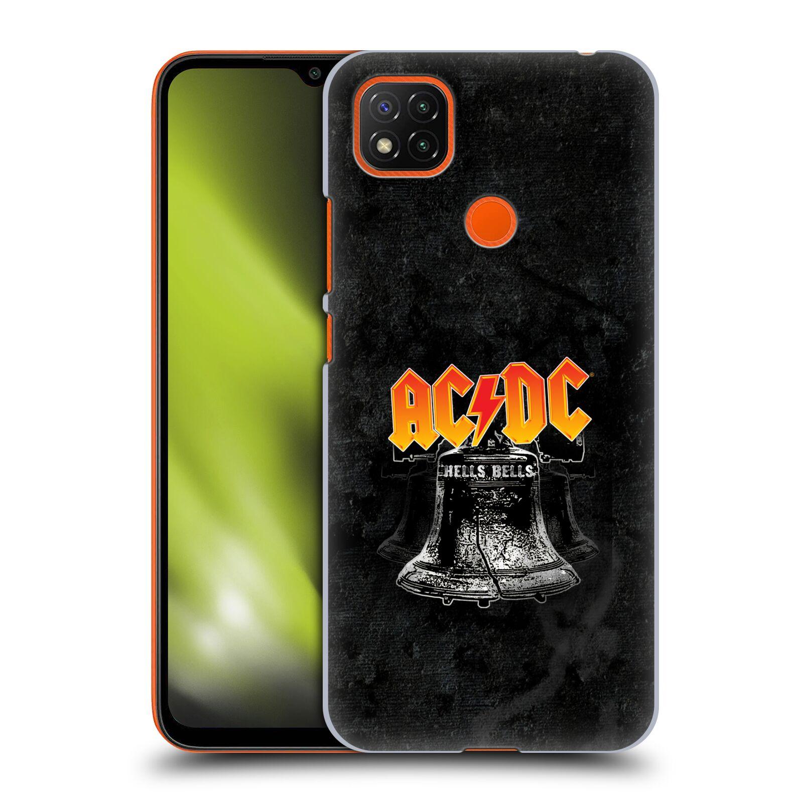 Plastové pouzdro na mobil Xiaomi Redmi 9C - Head Case - AC/DC Hells Bells