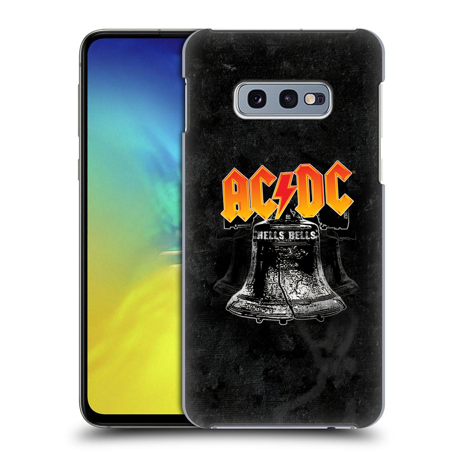 Plastové pouzdro na mobil Samsung Galaxy S10e - Head Case - AC/DC Hells Bells
