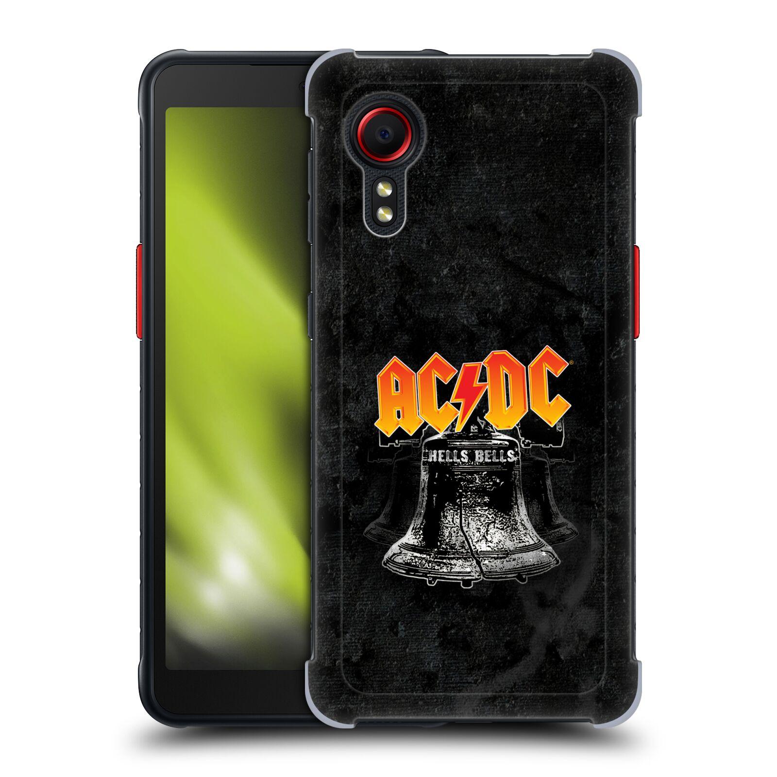 Plastové pouzdro na mobil Samsung Galaxy Xcover 5 - Head Case - AC/DC Hells Bells