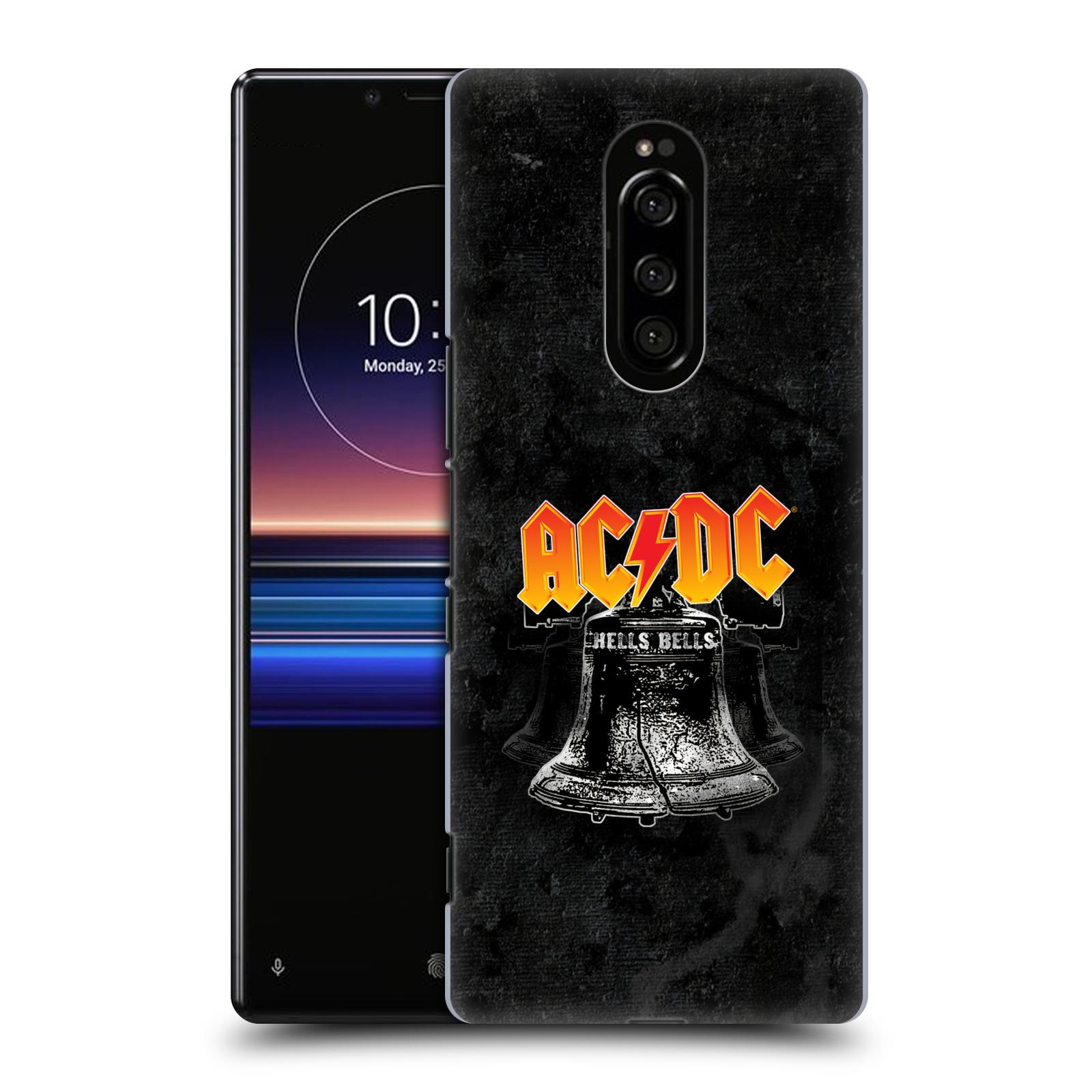 Plastové pouzdro na mobil Sony Xperia 1 - Head Case - AC/DC Hells Bells