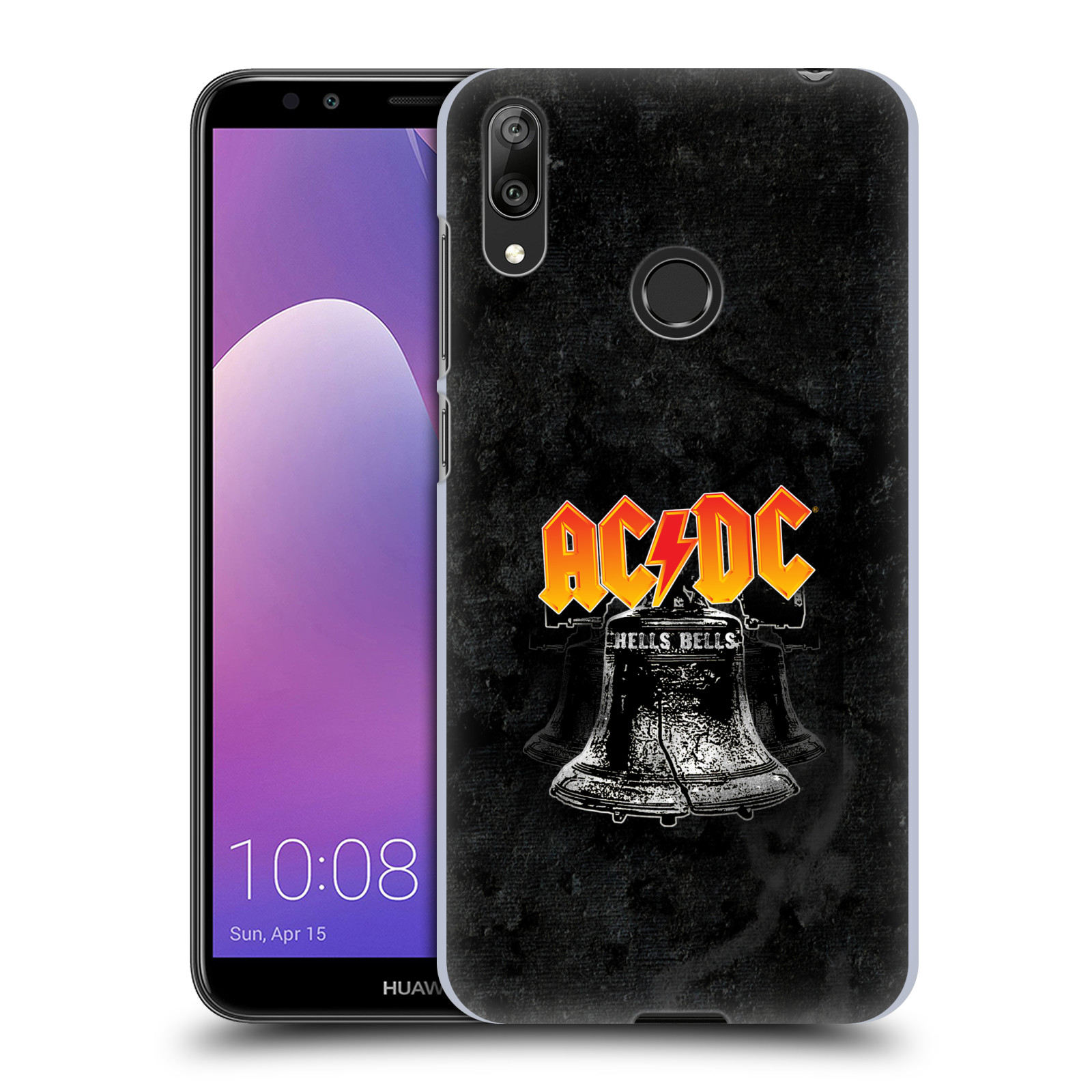 Plastové pouzdro na mobil Huawei Y7 (2019) - Head Case - AC/DC Hells Bells