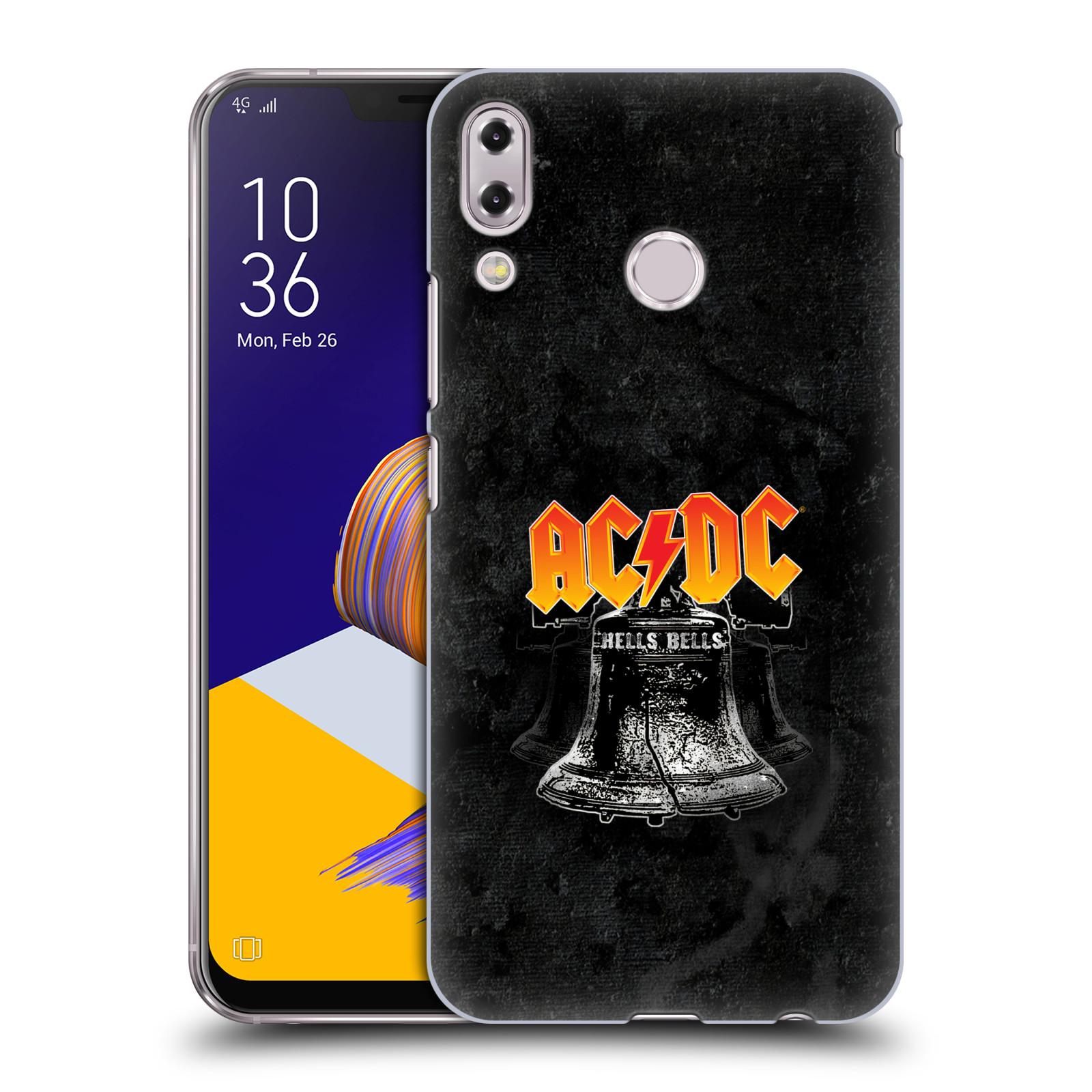 Plastové pouzdro na mobil Asus Zenfone 5z ZS620KL - Head Case - AC/DC Hells Bells
