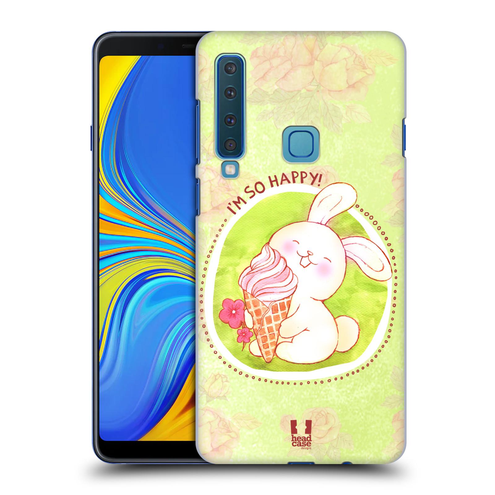 Plastové pouzdro na mobil Samsung Galaxy A9 (2018) - Head Case - KRÁLÍČEK A ZMRZKA