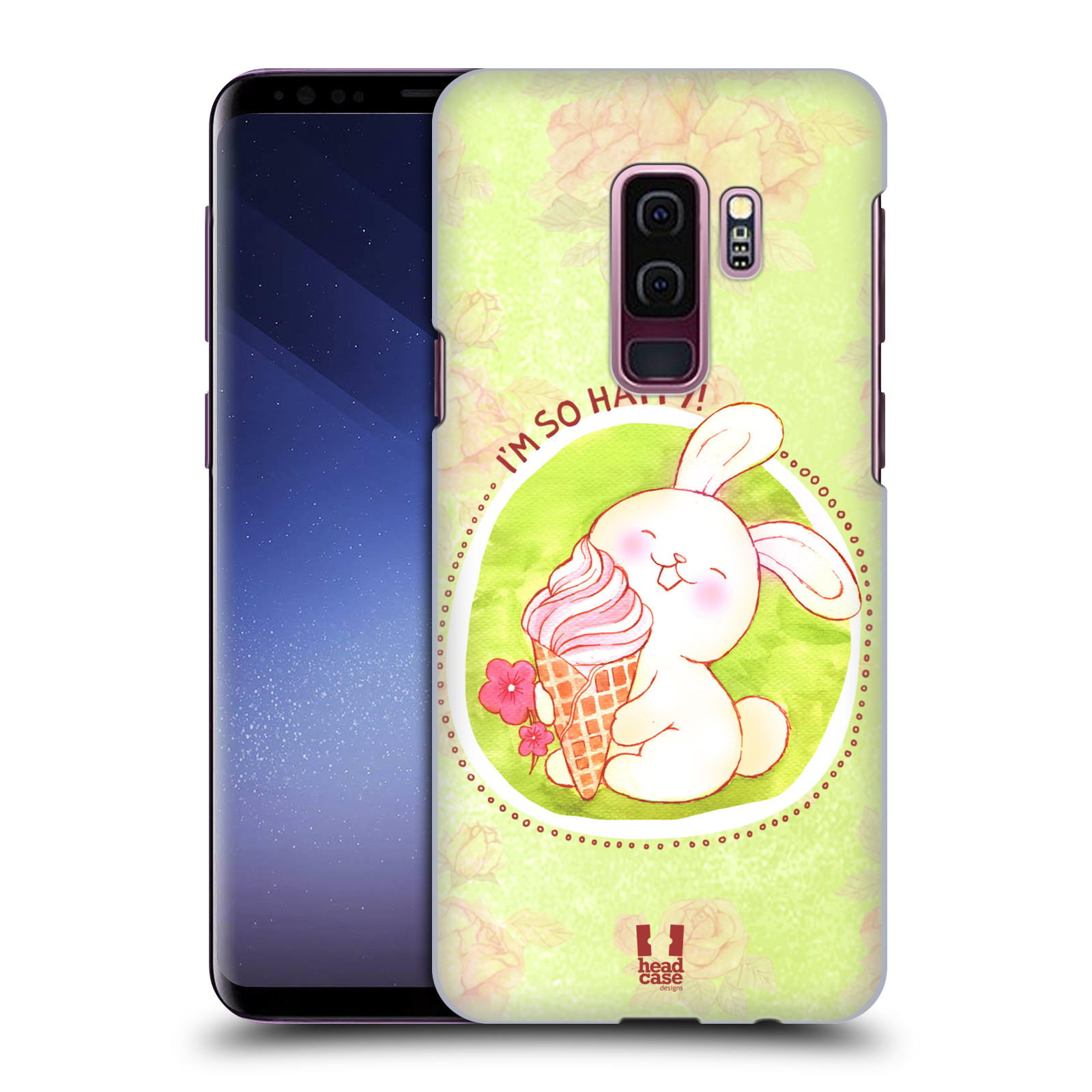 Plastové pouzdro na mobil Samsung Galaxy S9 Plus - Head Case - KRÁLÍČEK A ZMRZKA
