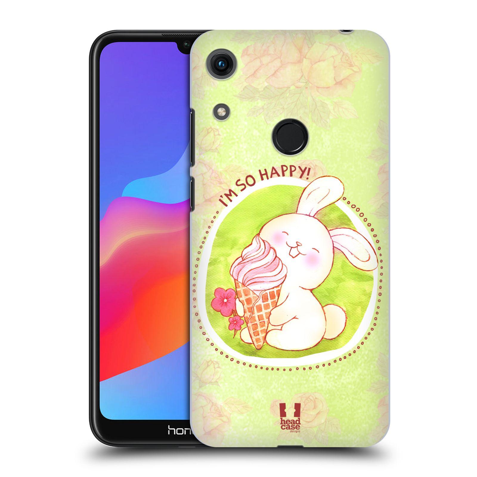 Plastové pouzdro na mobil Honor 8A - Head Case - KRÁLÍČEK A ZMRZKA