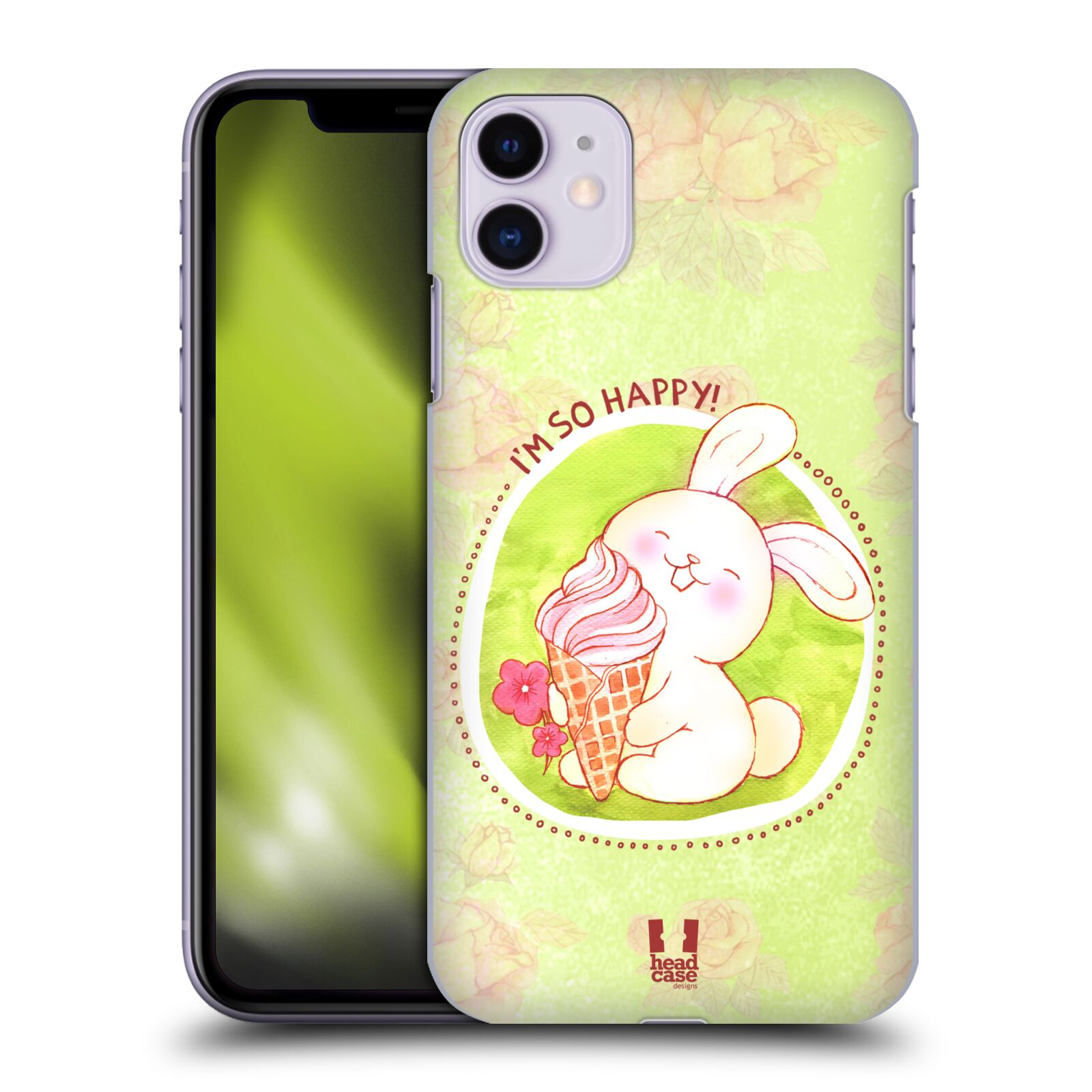 Plastové pouzdro na mobil Apple iPhone 11 - Head Case - KRÁLÍČEK A ZMRZKA