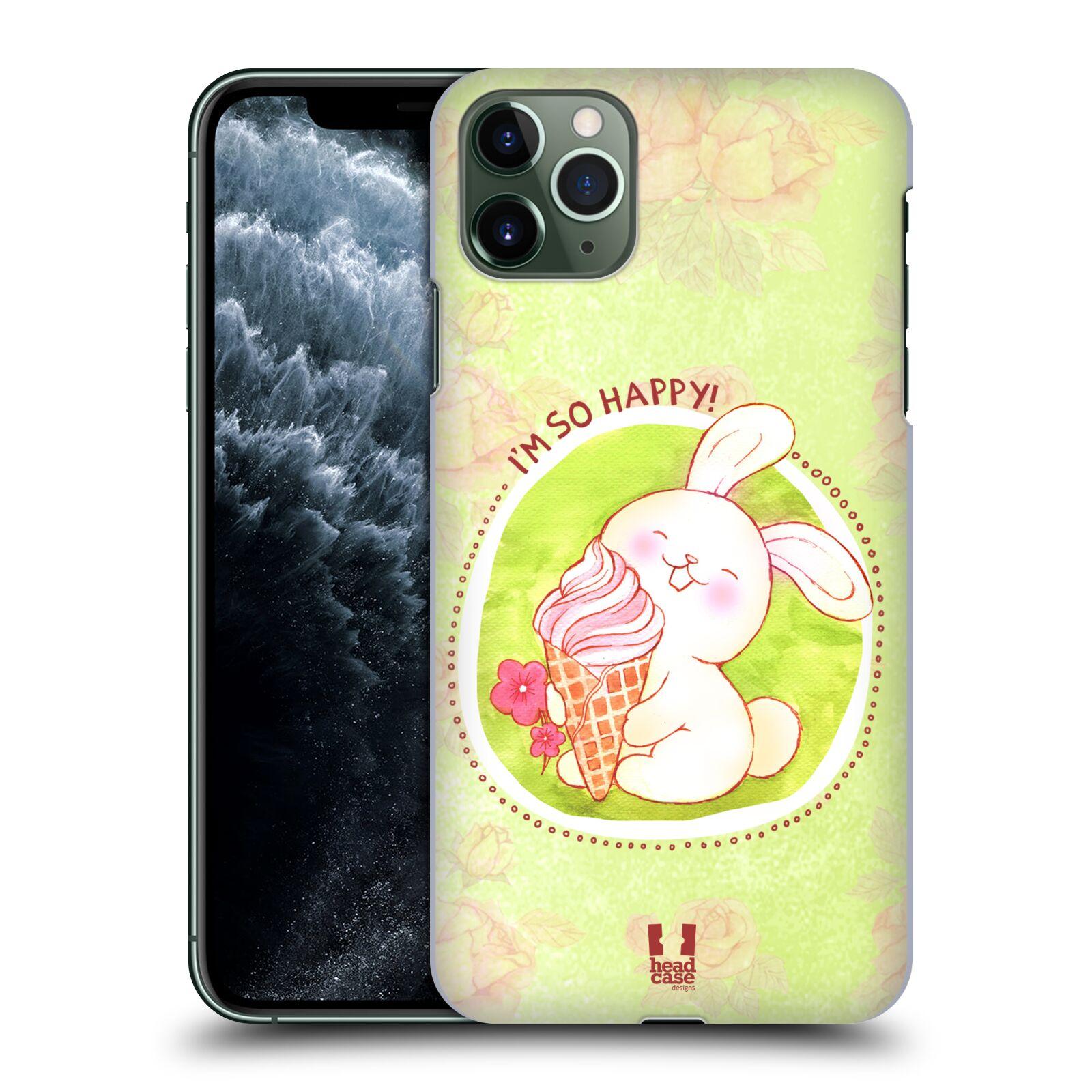 Plastové pouzdro na mobil Apple iPhone 11 Pro Max - Head Case - KRÁLÍČEK A ZMRZKA