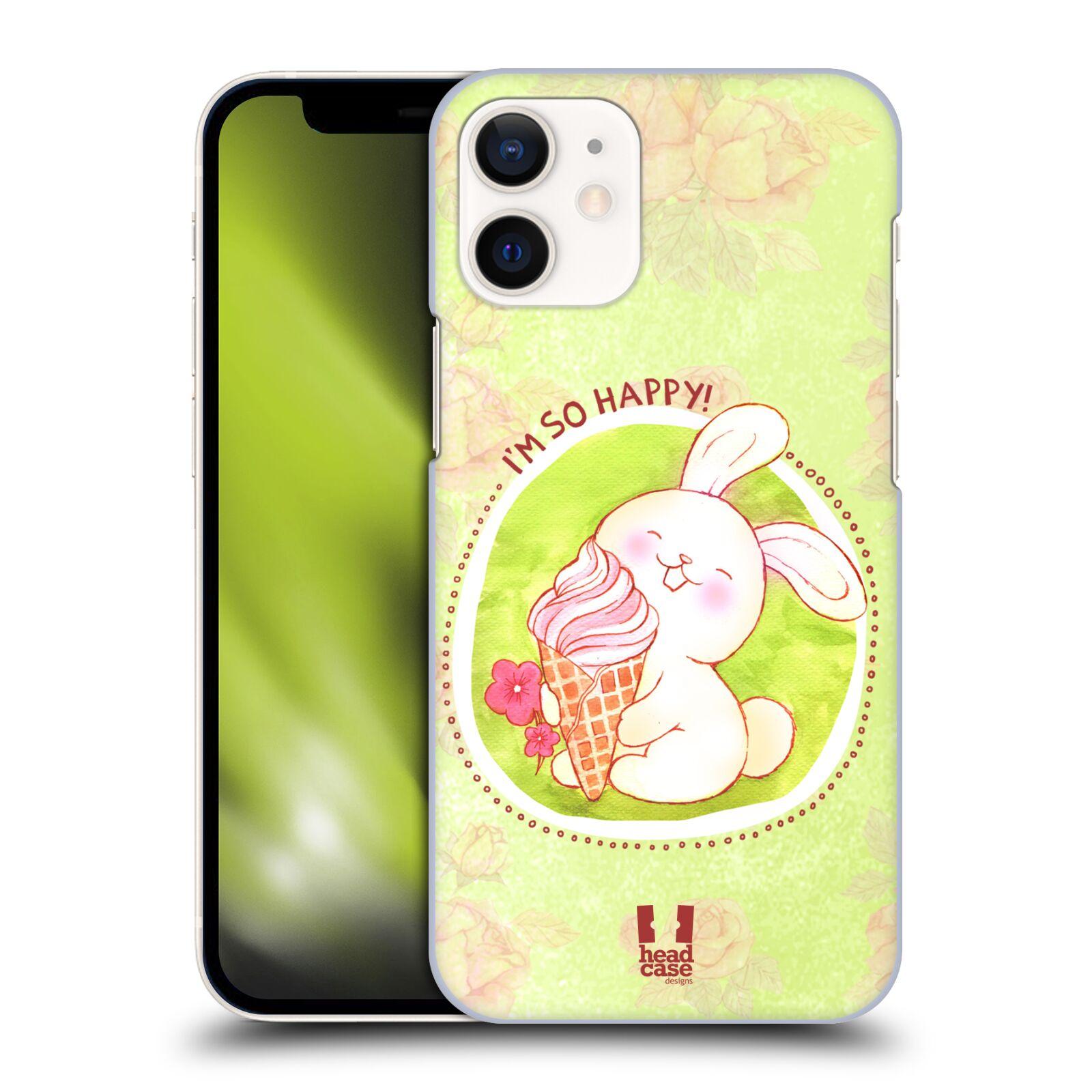 Plastové pouzdro na mobil Apple iPhone 12 Mini - Head Case - KRÁLÍČEK A ZMRZKA